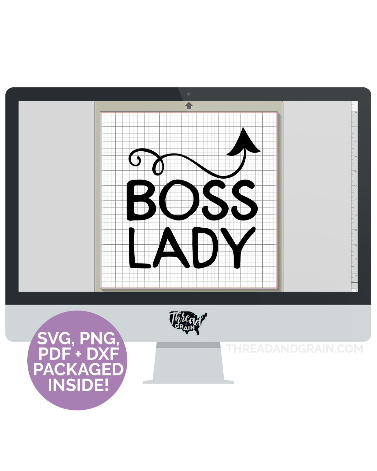 Boss Lady DIGITAL CUT FILE