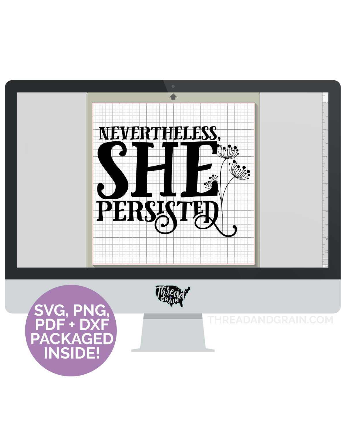 Nevertheless, She Persisted DIGITAL CUT FILE