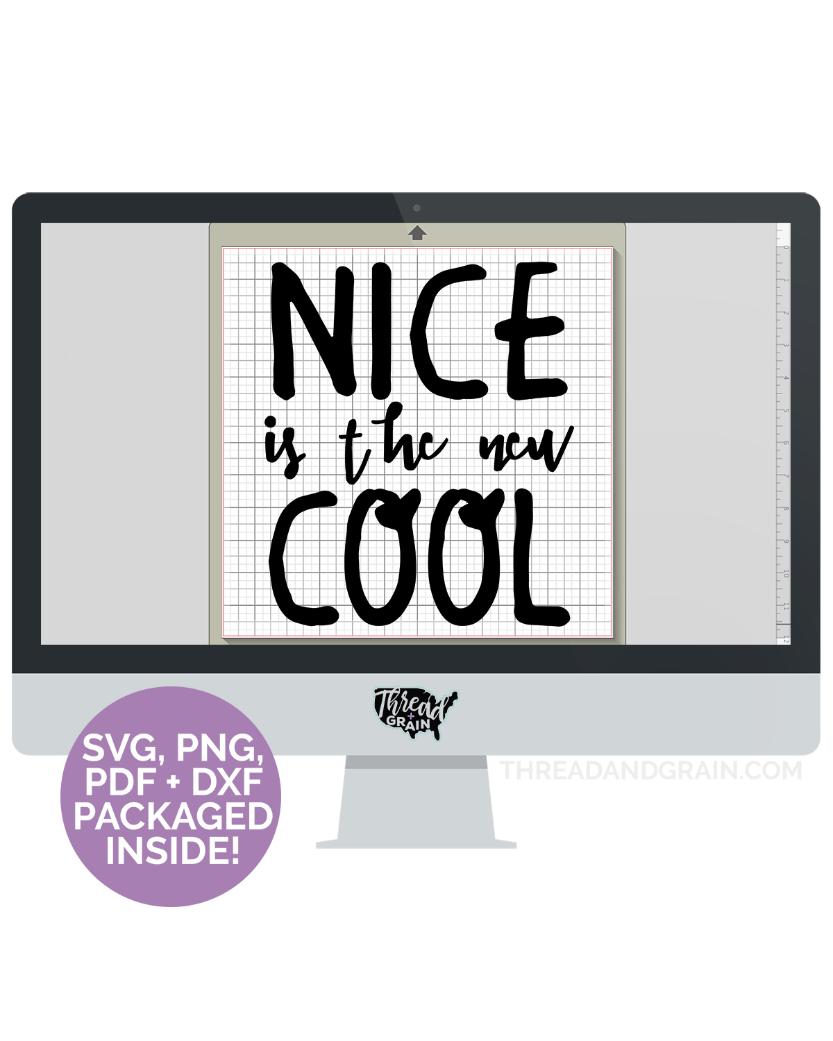 Nice Is the New Cool DIGITAL CUT FILE