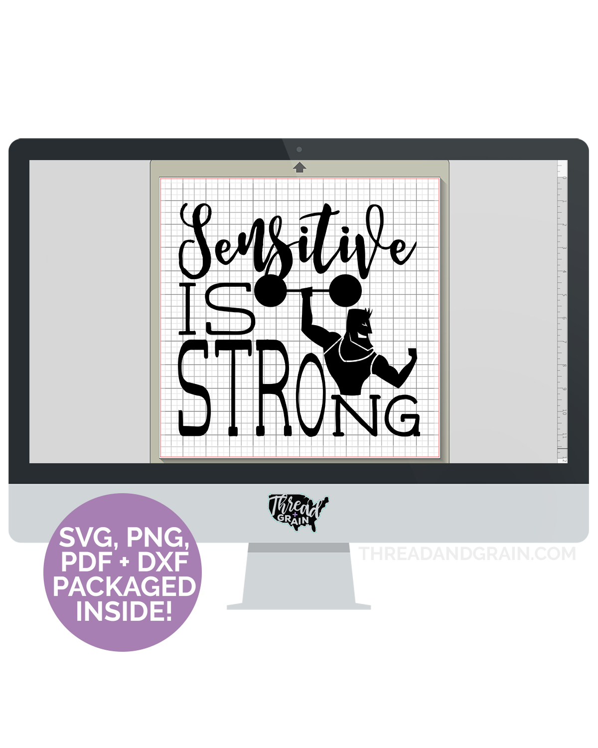 Sensitive Is Strong DIGITAL CUT FILE