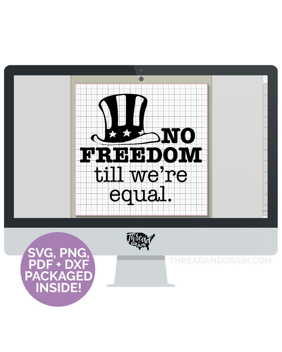 No Freedom 'till We're Equal DIGITAL CUT FILE