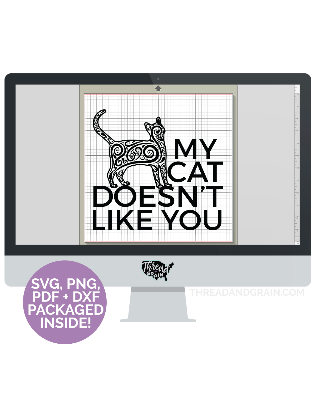 My Cat Doesn't Like You DIGITAL CUT FILE