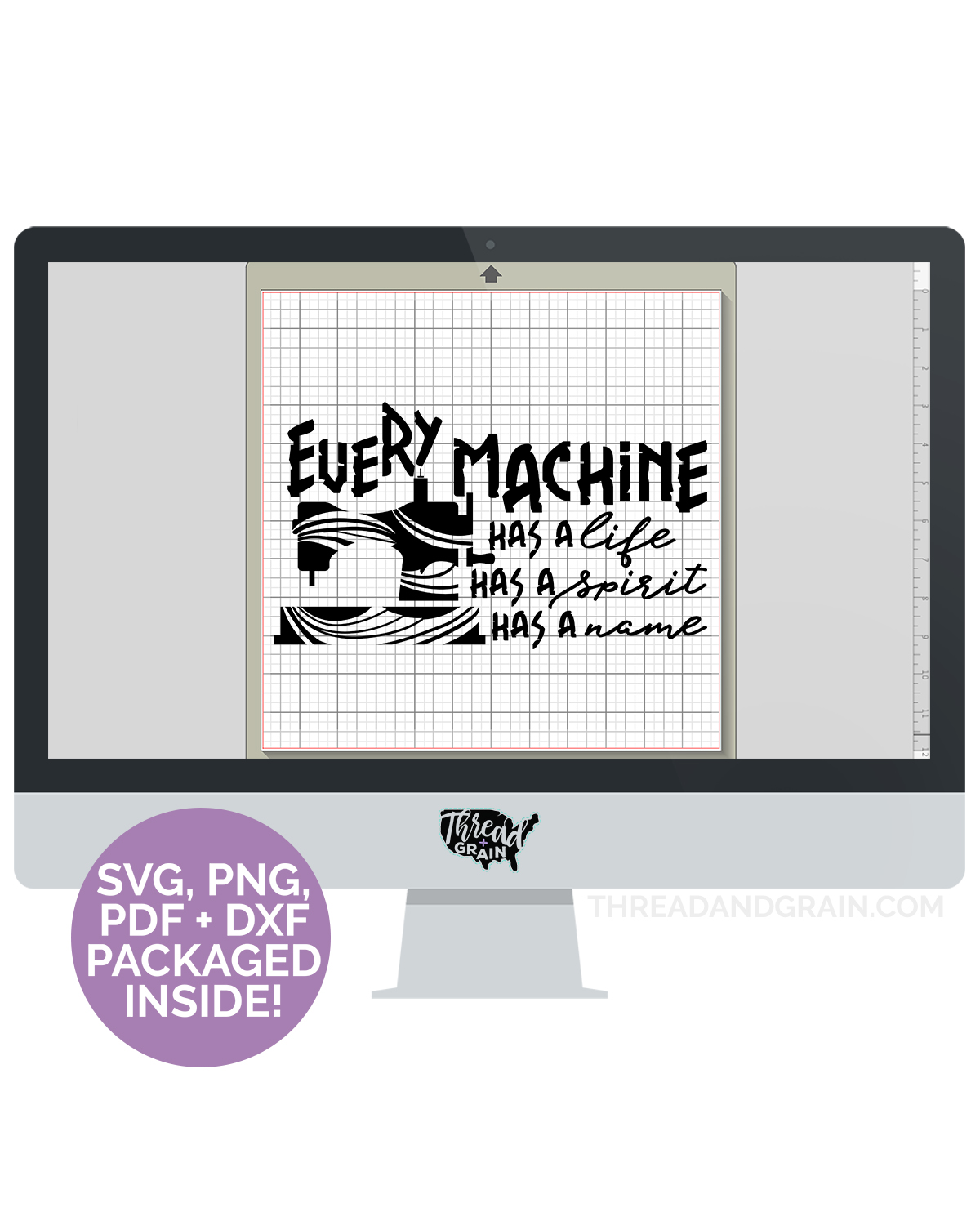 Every Machine DIGITAL CUT FILE