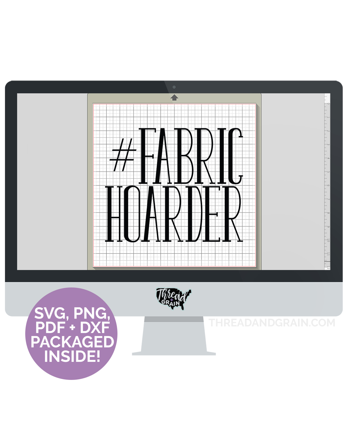 Fabric Hoarder DIGITAL CUT FILE