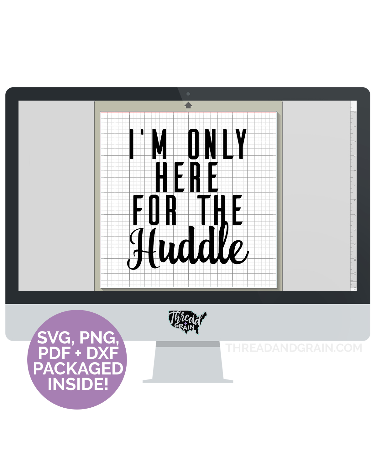 Here for the Huddle DIGITAL CUT FILE