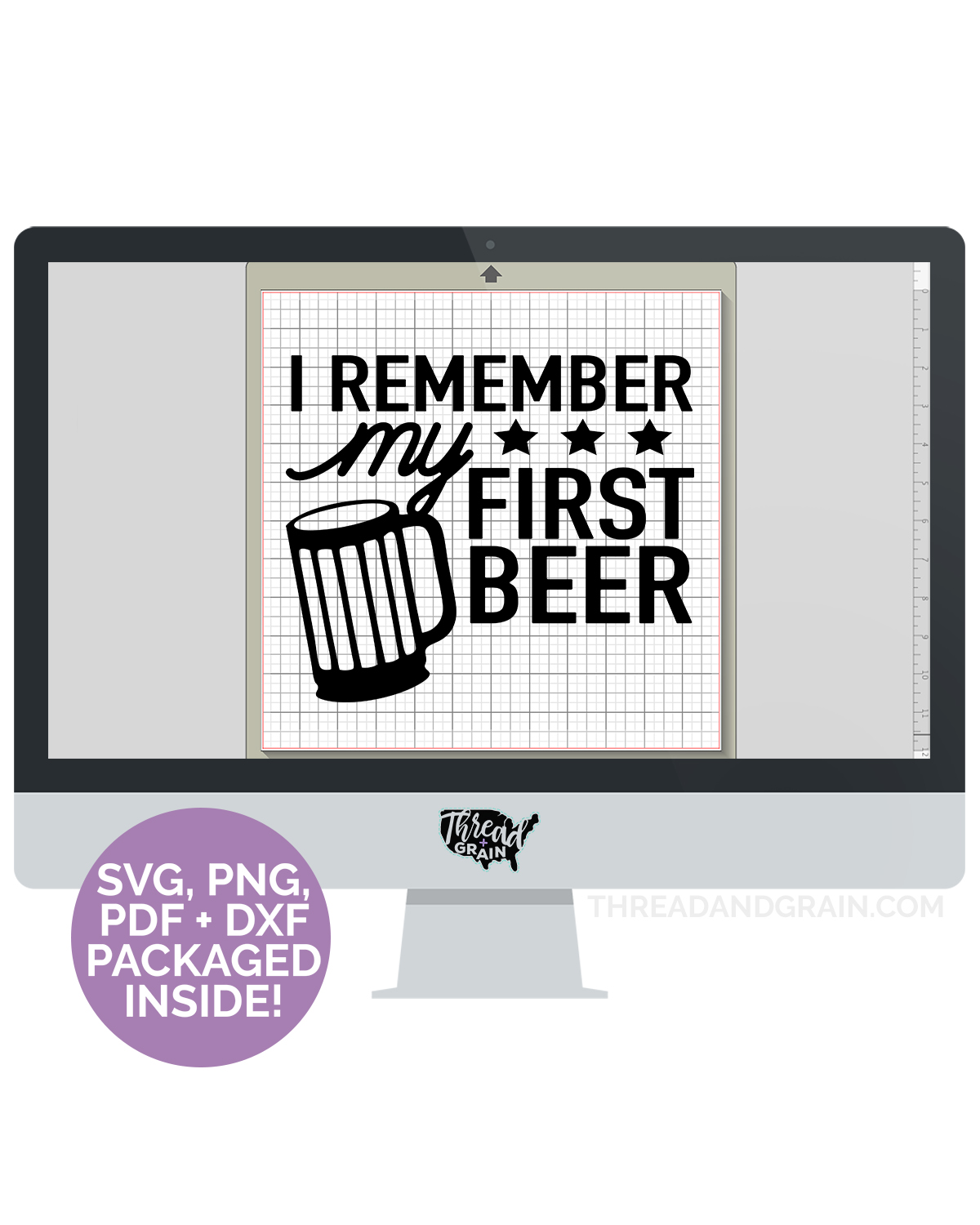 I Remember My First Beer DIGITAL CUT FILE