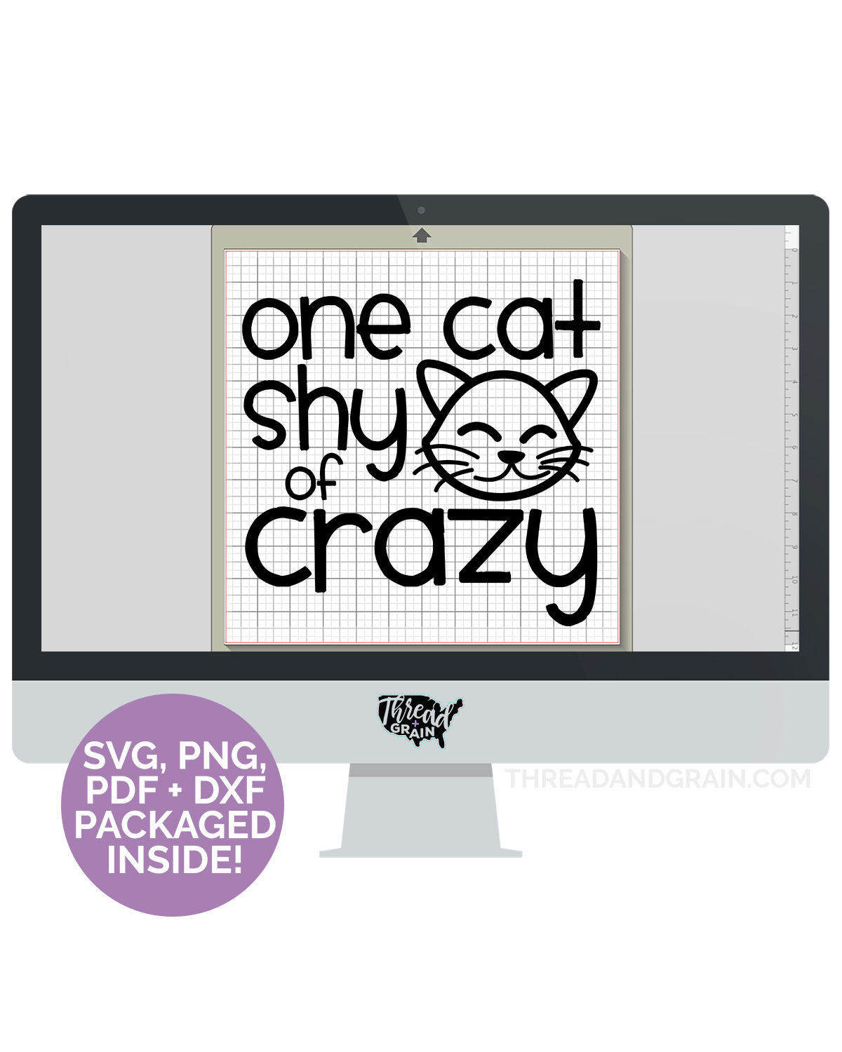 One Cat Shy of Crazy DIGITAL CUT FILE