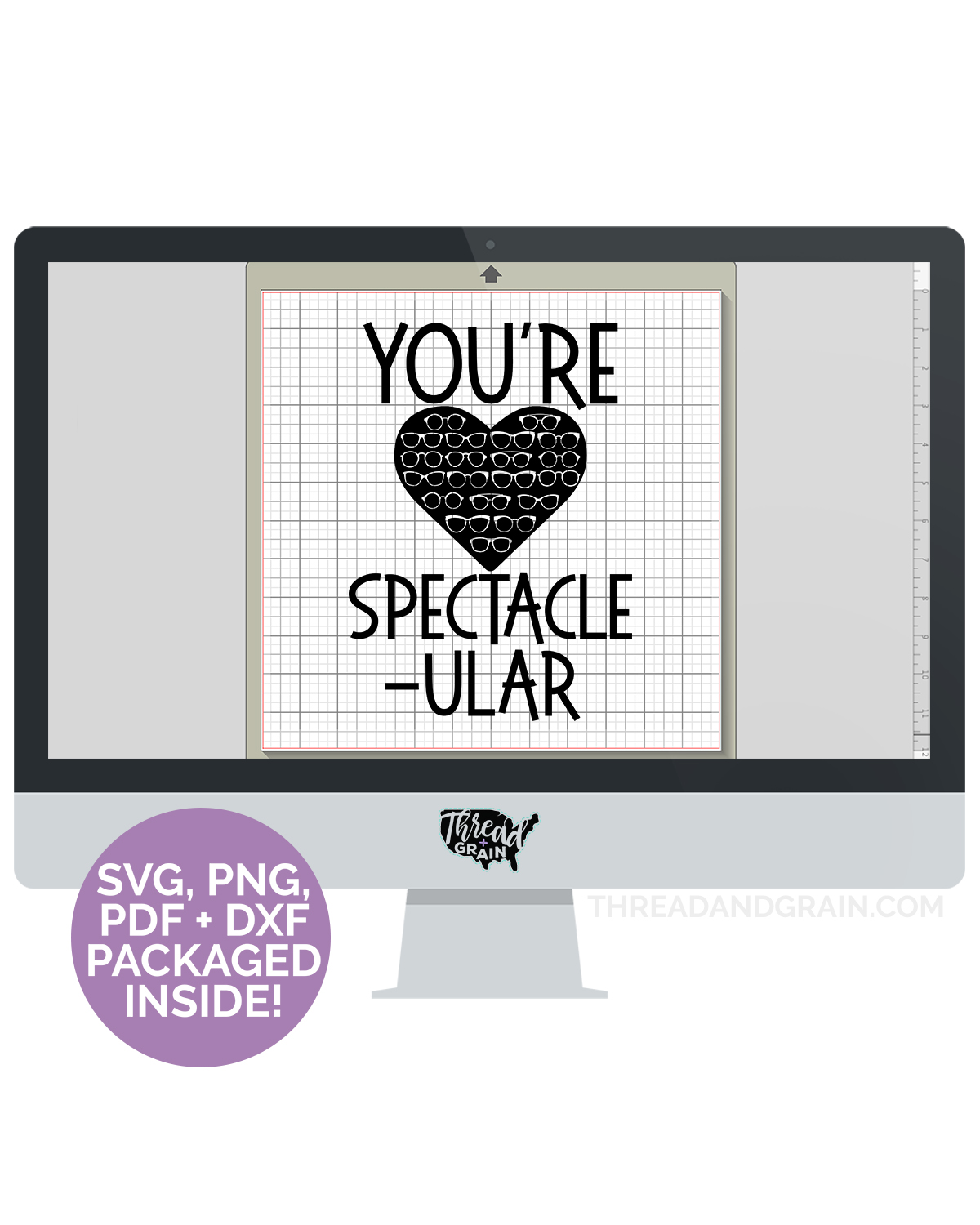 You're Spectacle-ular DIGITAL CUT FILE