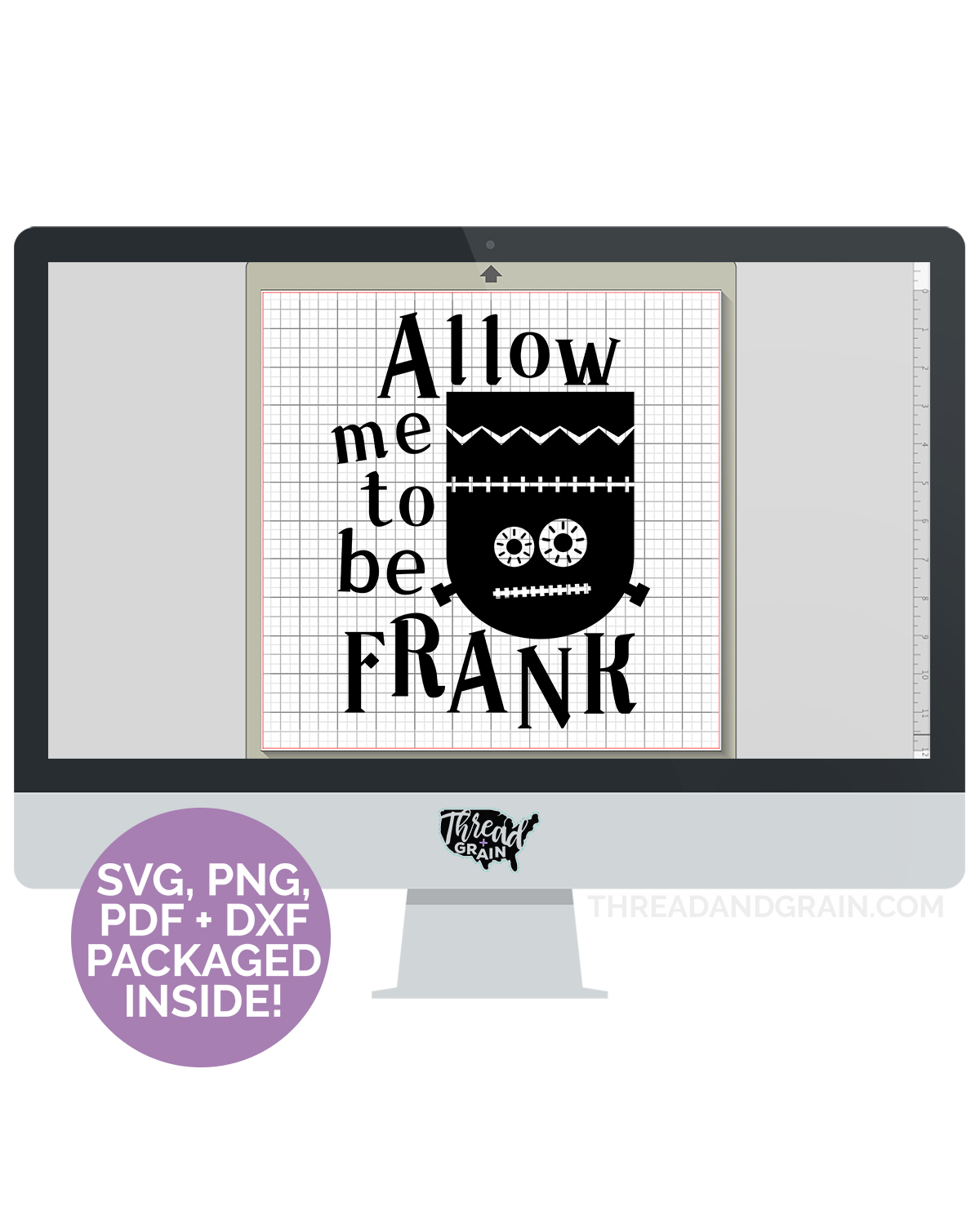 Allow Me To Be Frank DIGITAL CUT FILE