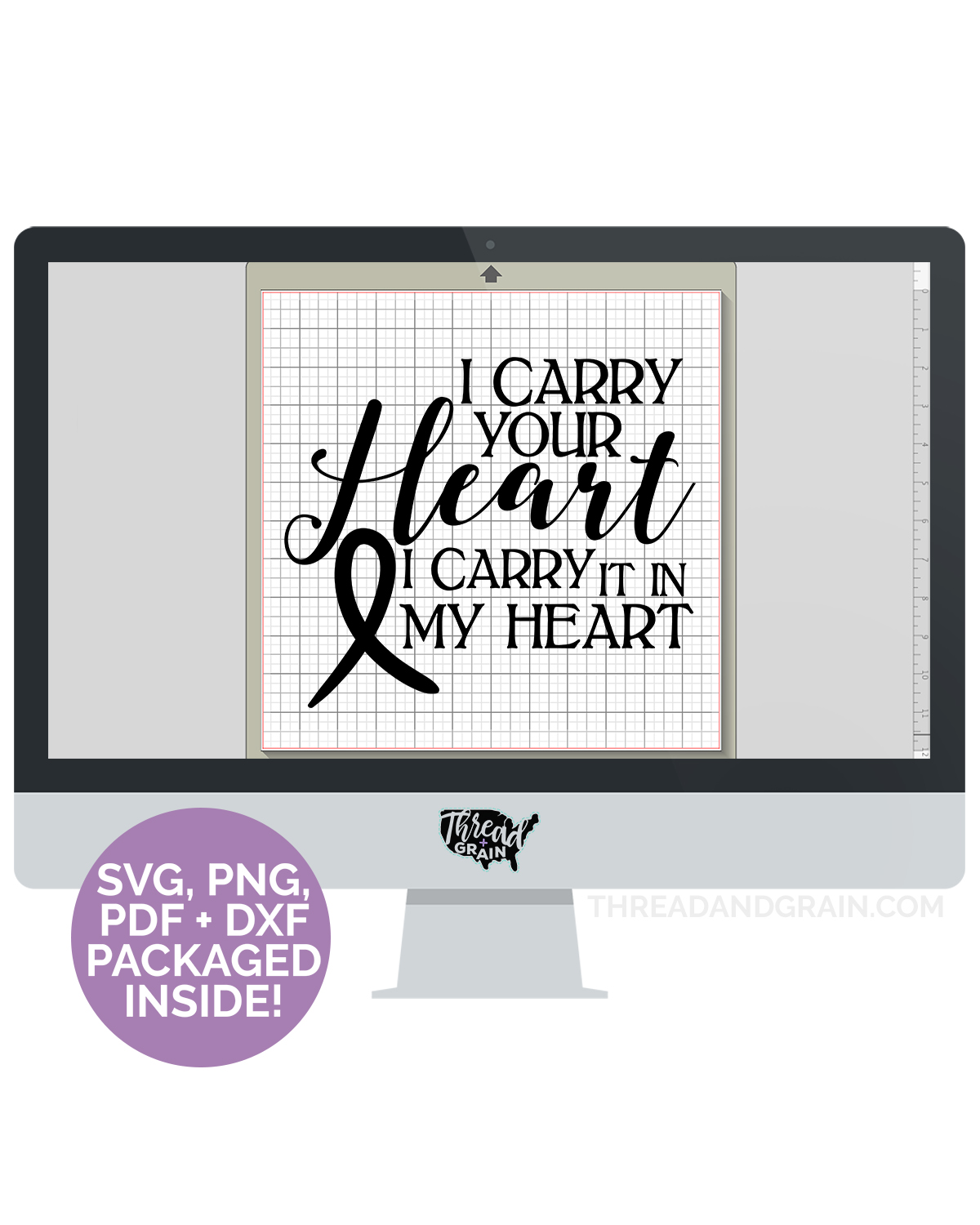 Carry Your Heart DIGITAL CUT FILE