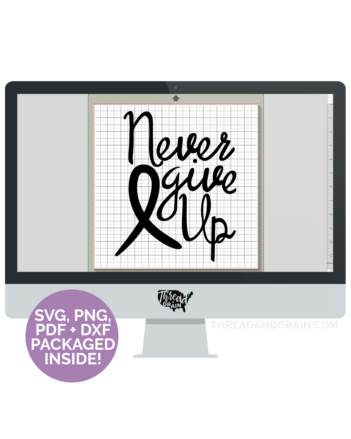 Never Give Up DIGITAL CUT FILE