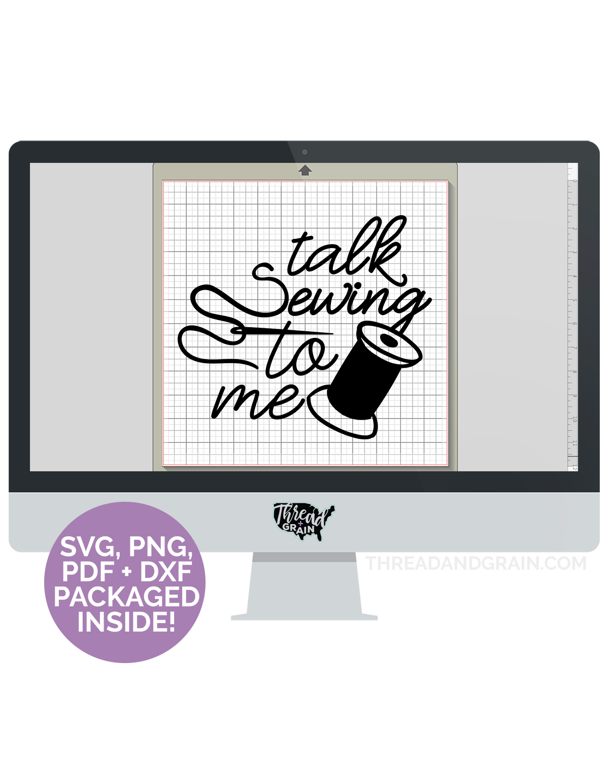 Talk Sewing to Me DIGITAL CUT FILE