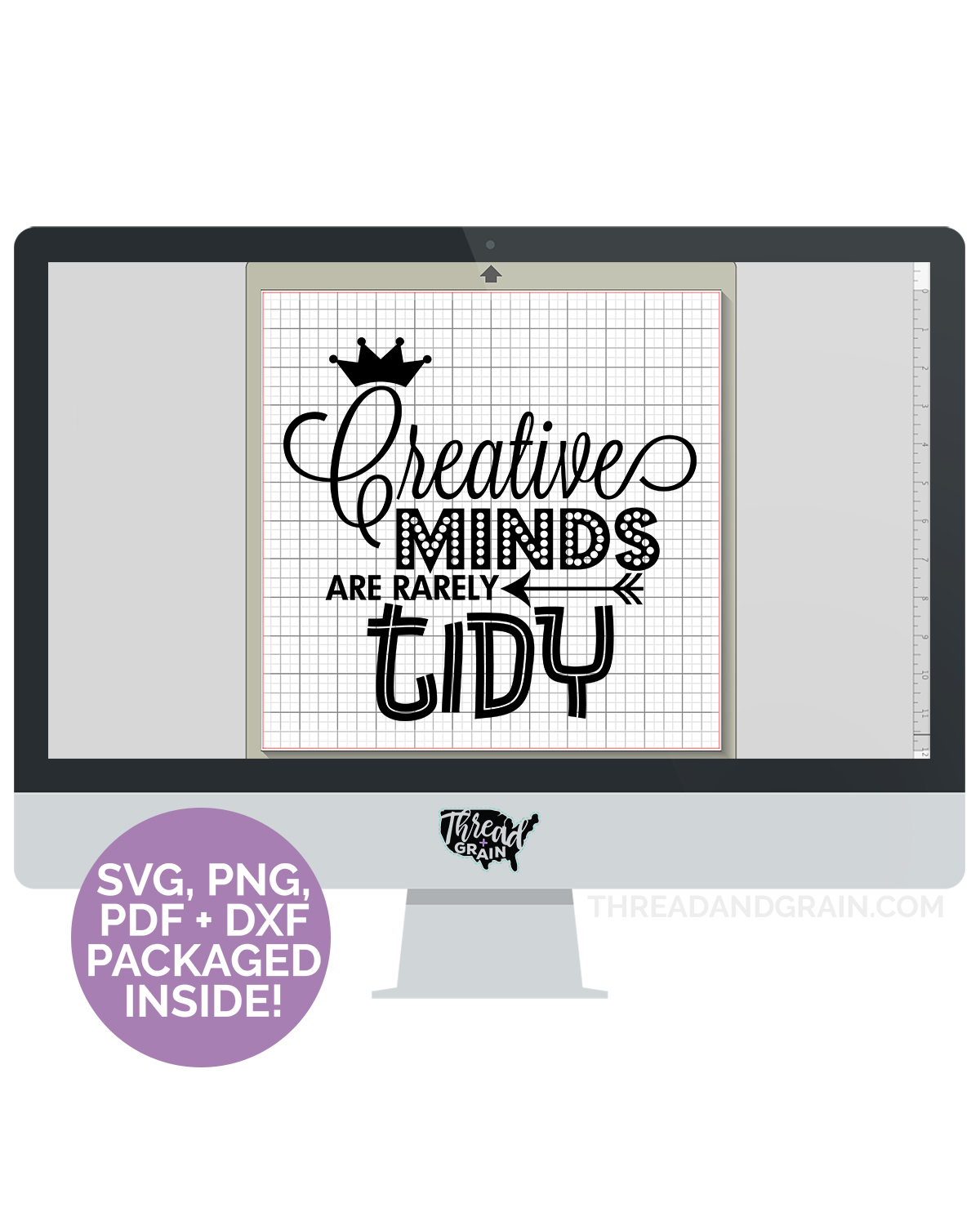 Creative Minds Are Rarely Tidy DIGITAL CUT FILE