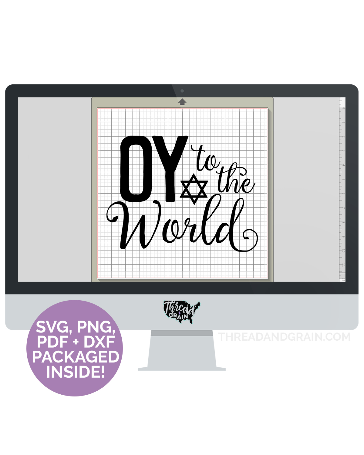 Oy to the World DIGITAL CUT FILE
