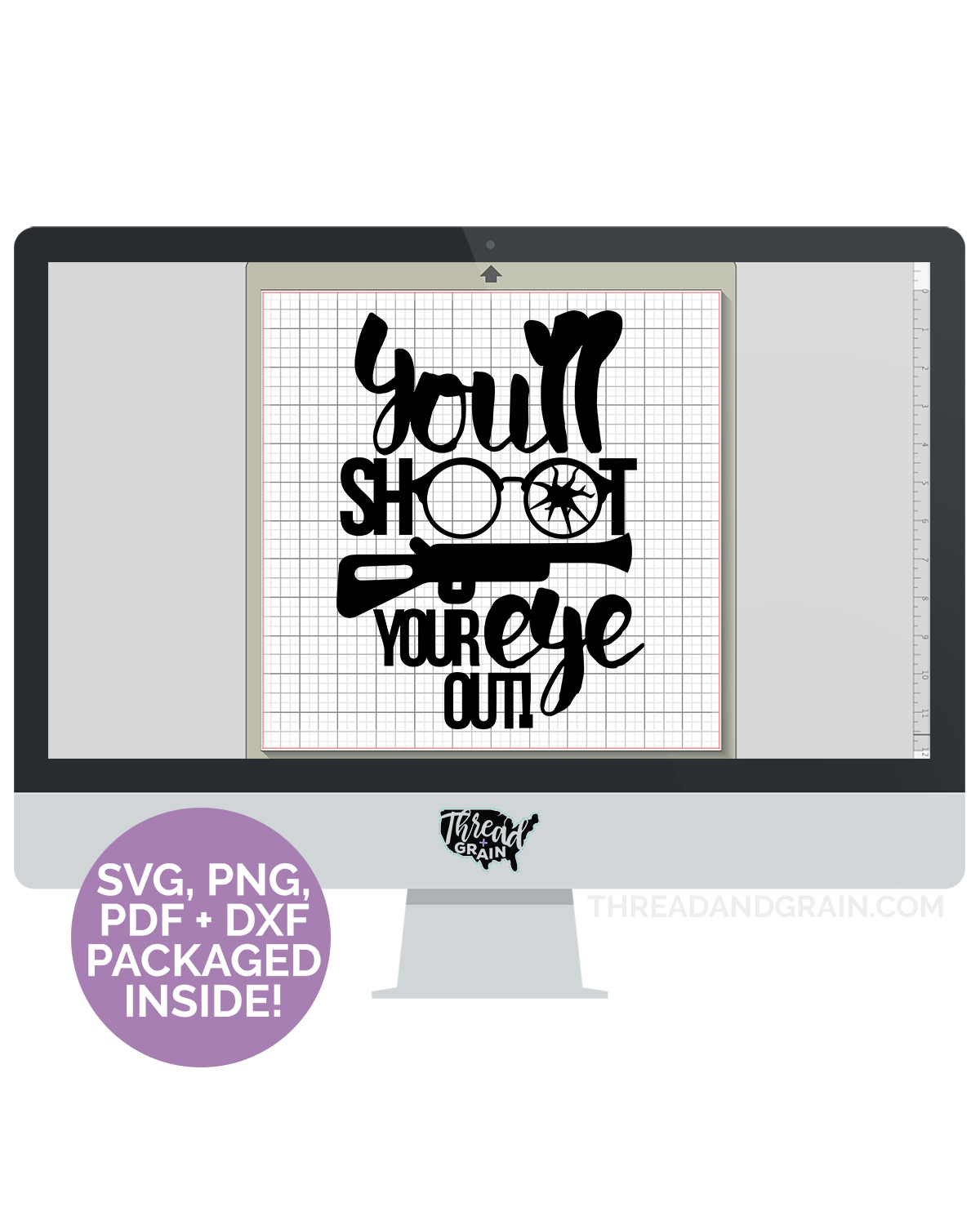 You'll Shoot Your Eye Out DIGITAL CUT FILE