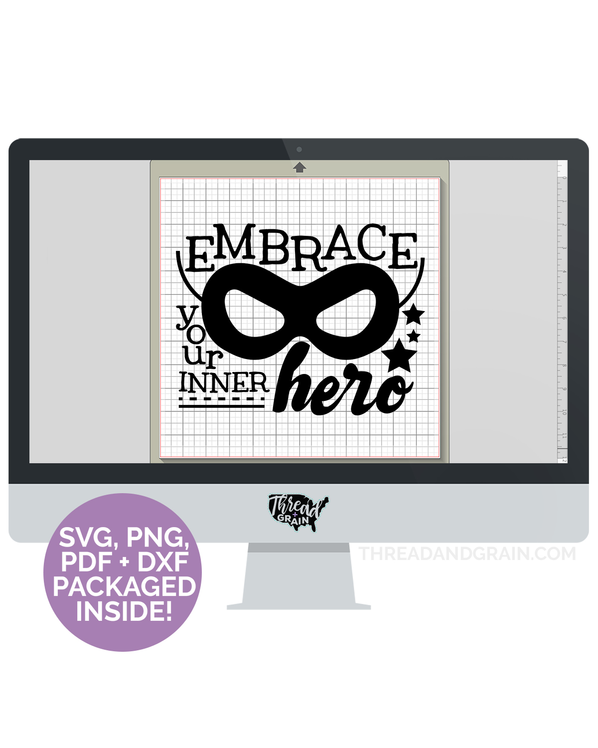 Embrace Your Inner Hero DIGITAL CUT FILE