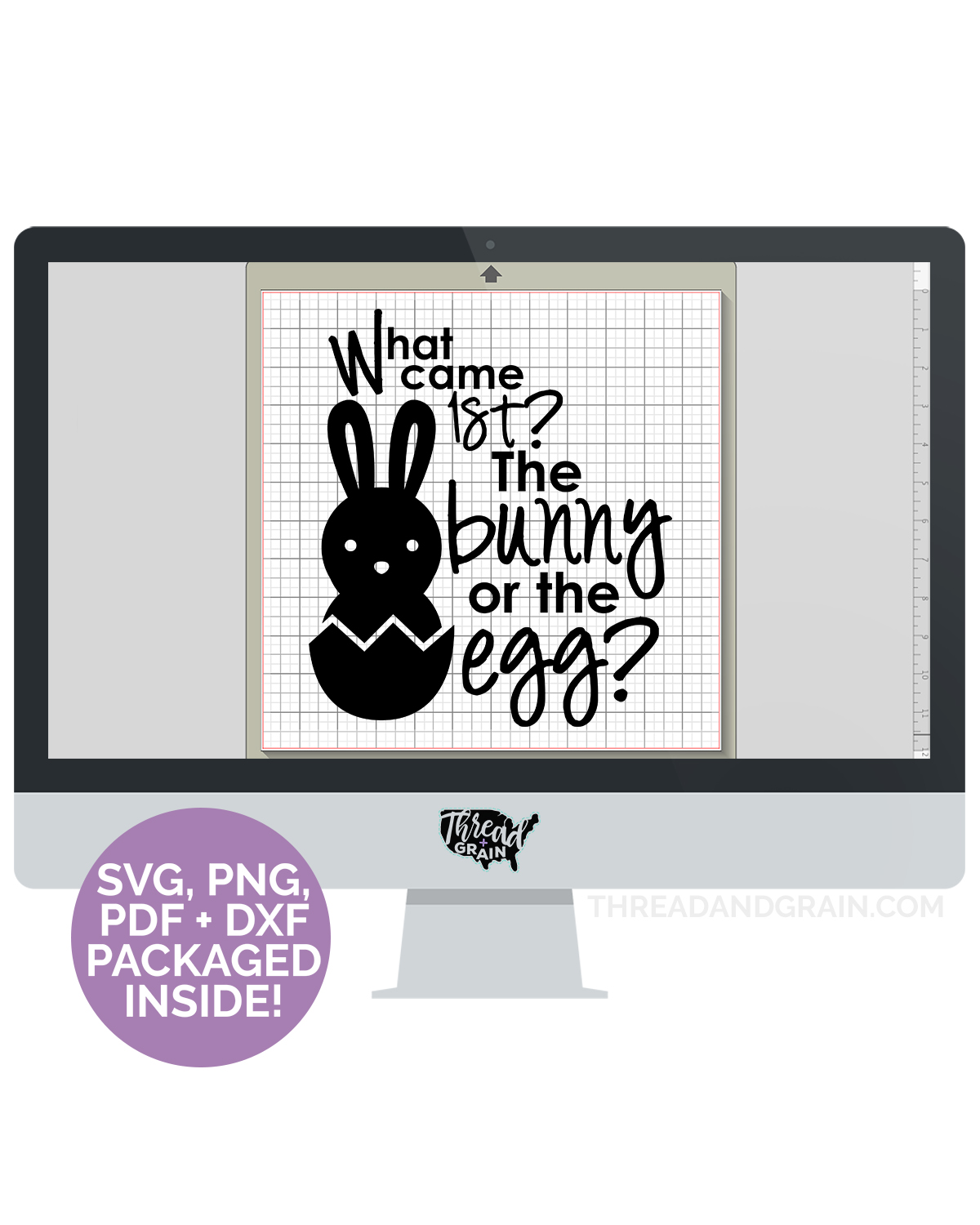 The Bunny or the Egg DIGITAL CUT FILE