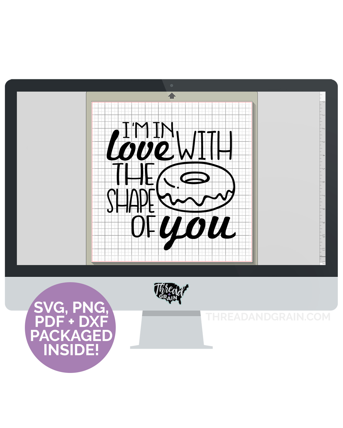I'm In Love With the Shape Of You DIGITAL CUT FILE