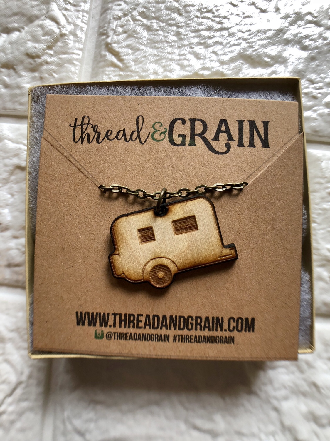 Airstream WOODEN NECKLACE