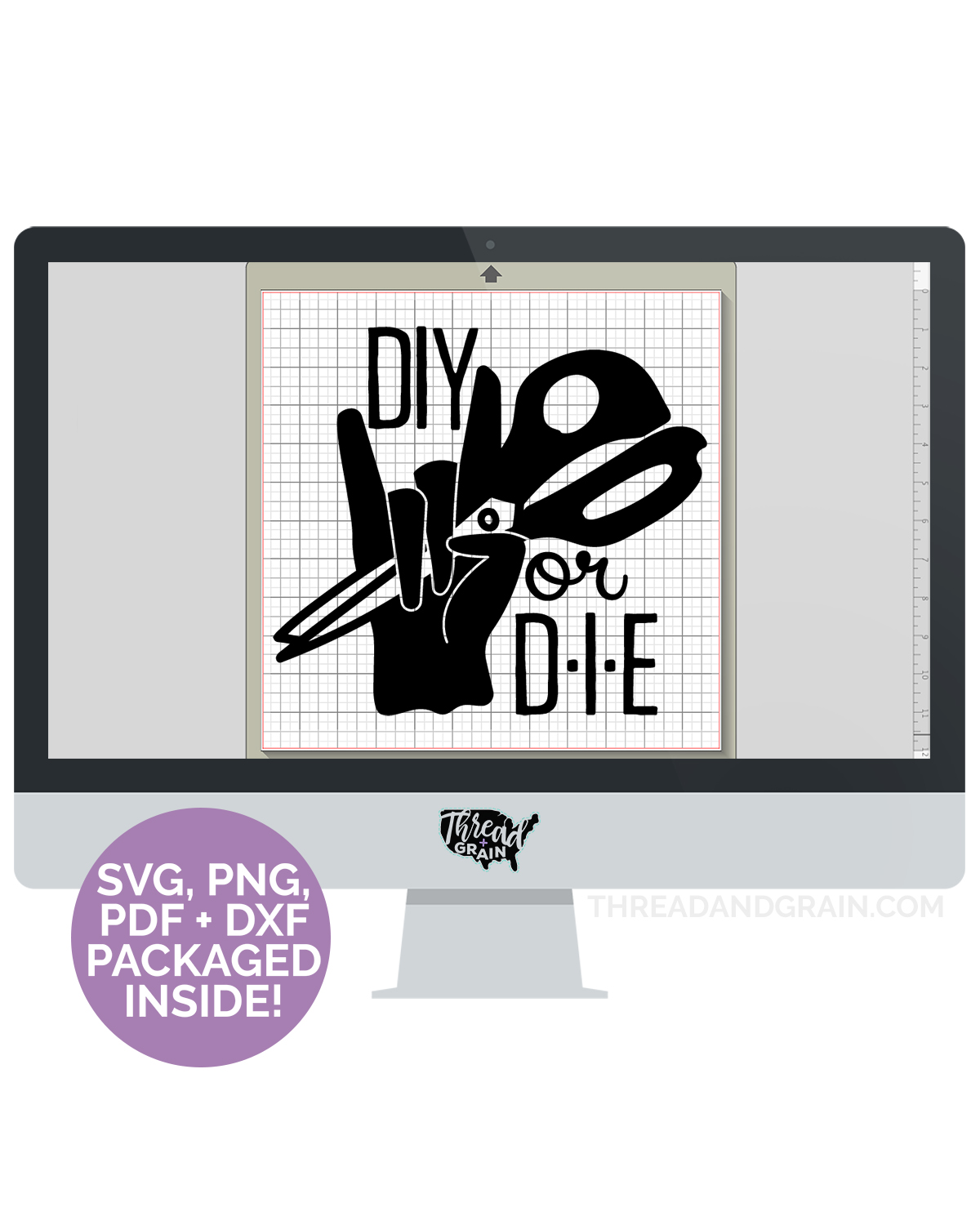 DIY or Die DIGITAL CUT FILE