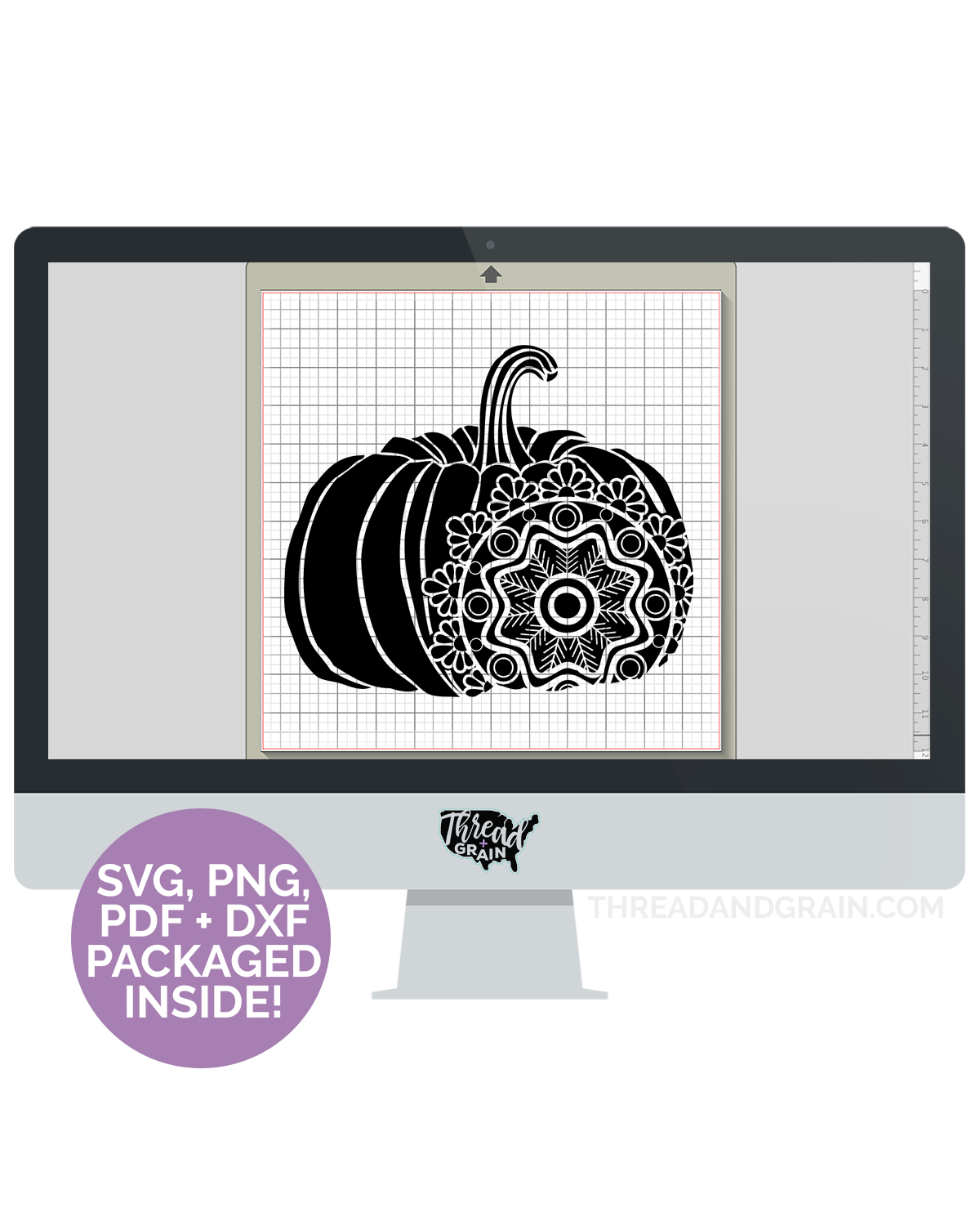 Doily Pumpkin DIGITAL CUT FILE