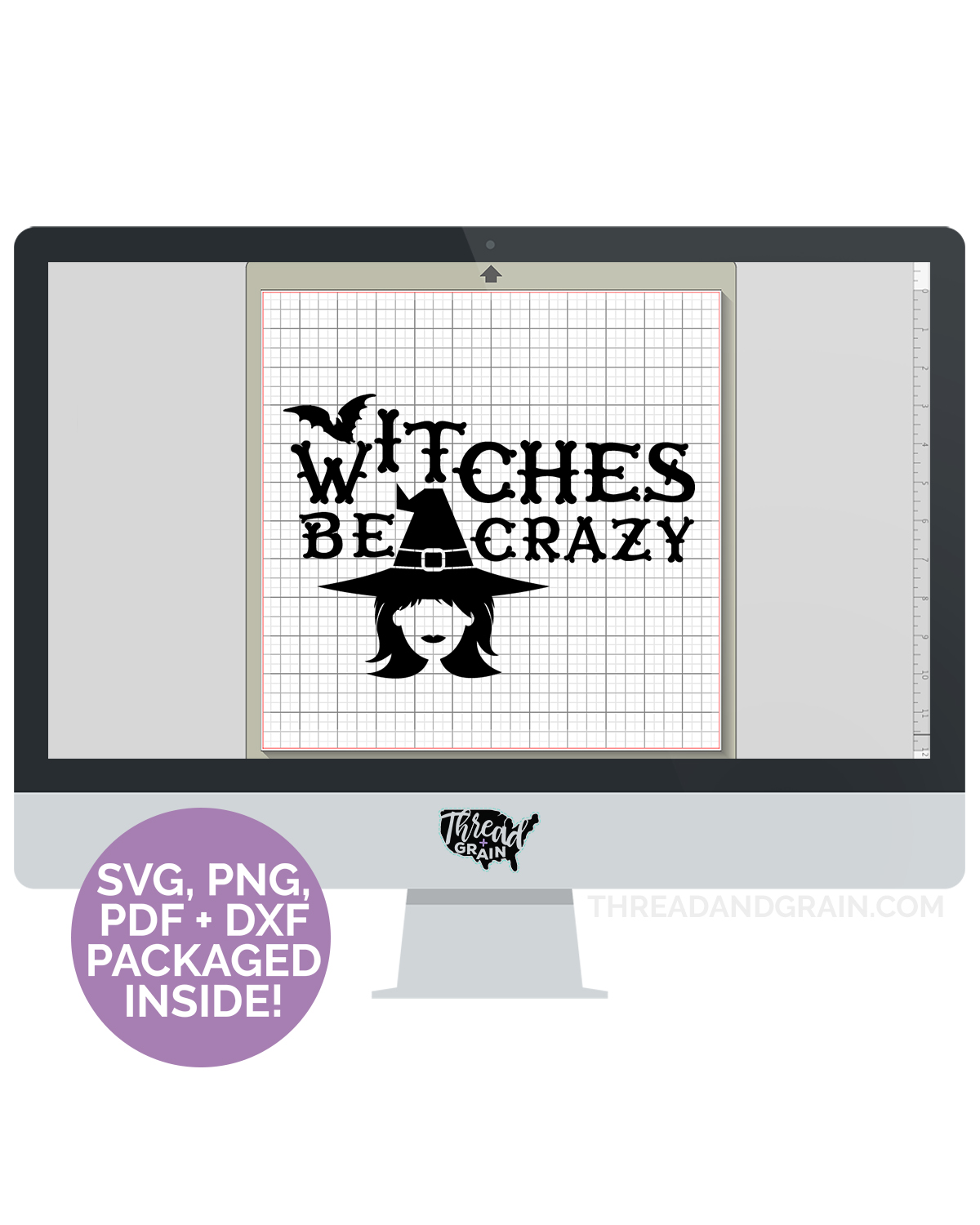 Witches Be Crazy DIGITAL CUT FILE
