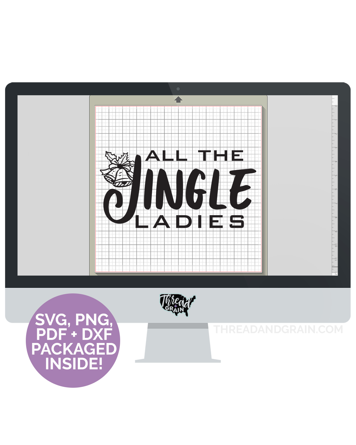 All the Jingle Ladies DIGITAL CUT FILE