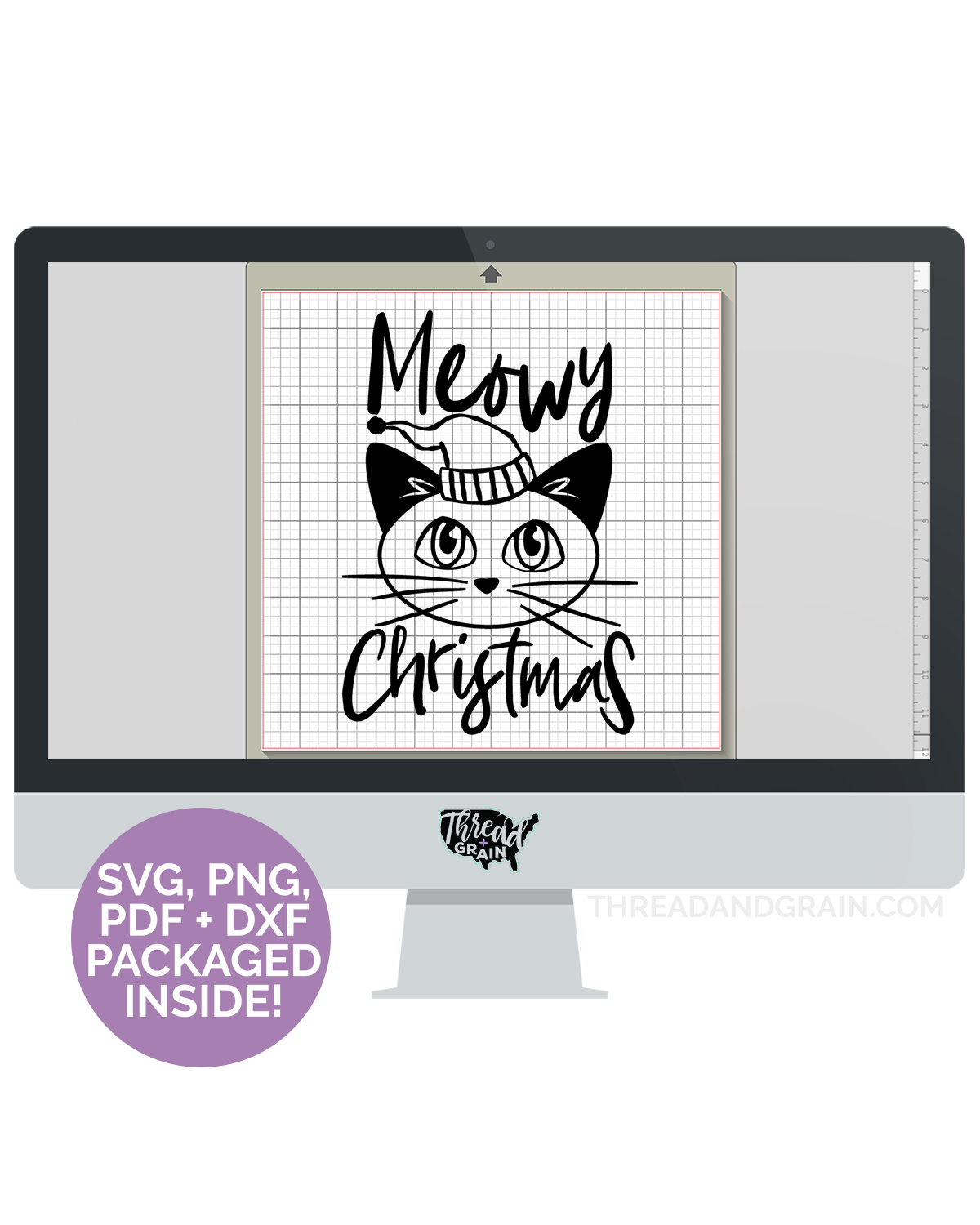 Meowy Christmas DIGITAL CUT FILE