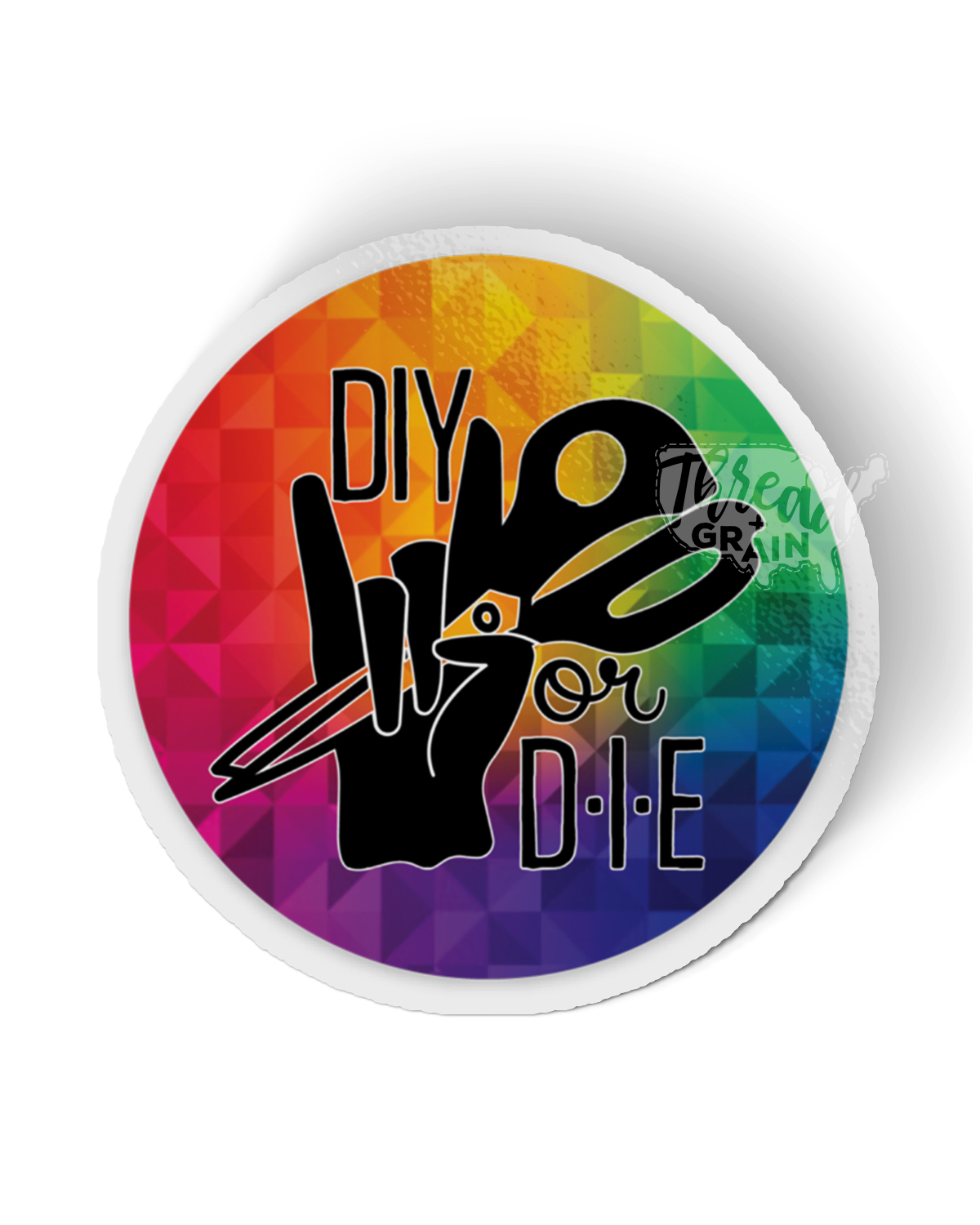 DIY or Die PERMANENT + WATERPROOF STICKER