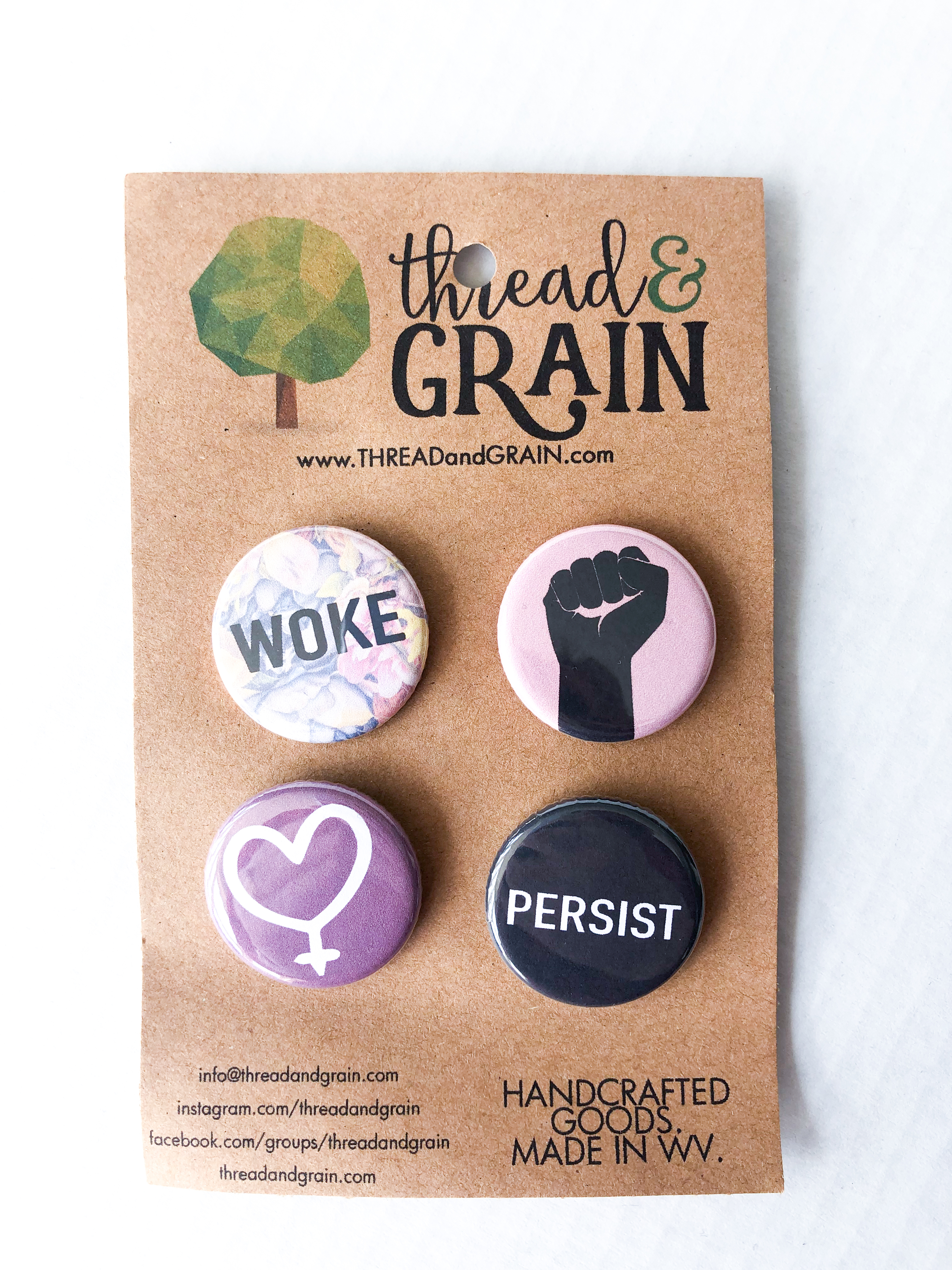 Feminist Button Set – Spring Cleaning Sale