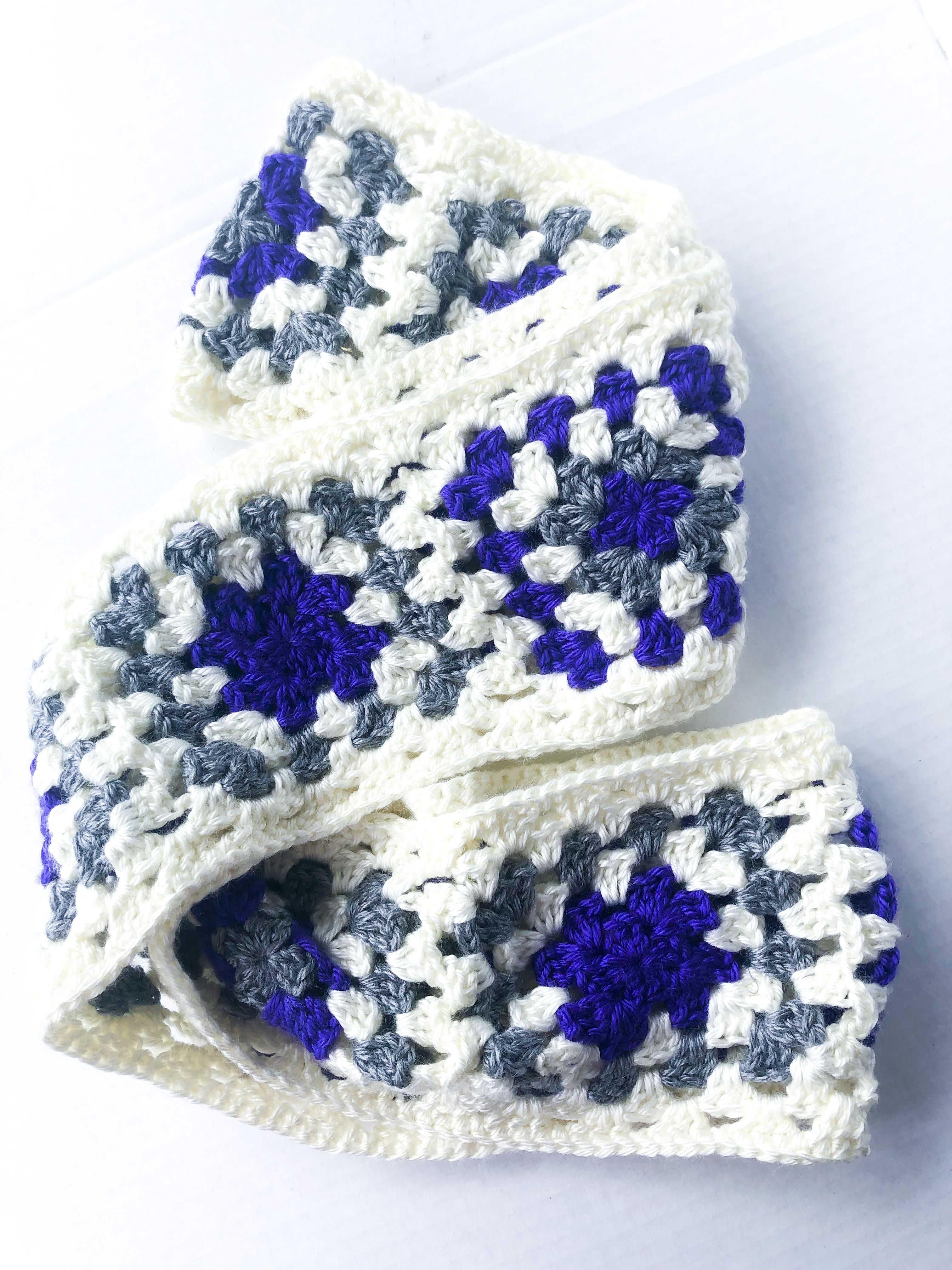 Granny Square Infinity Scarf – Spring Cleaning Sale