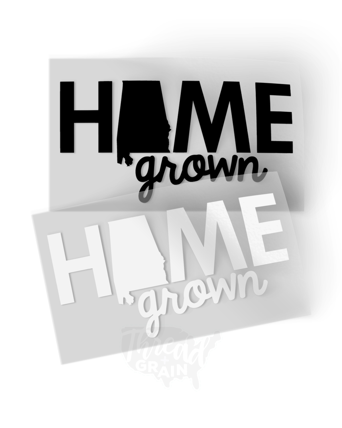 Alabama :: Home Grown IRON-ON TRANSFER