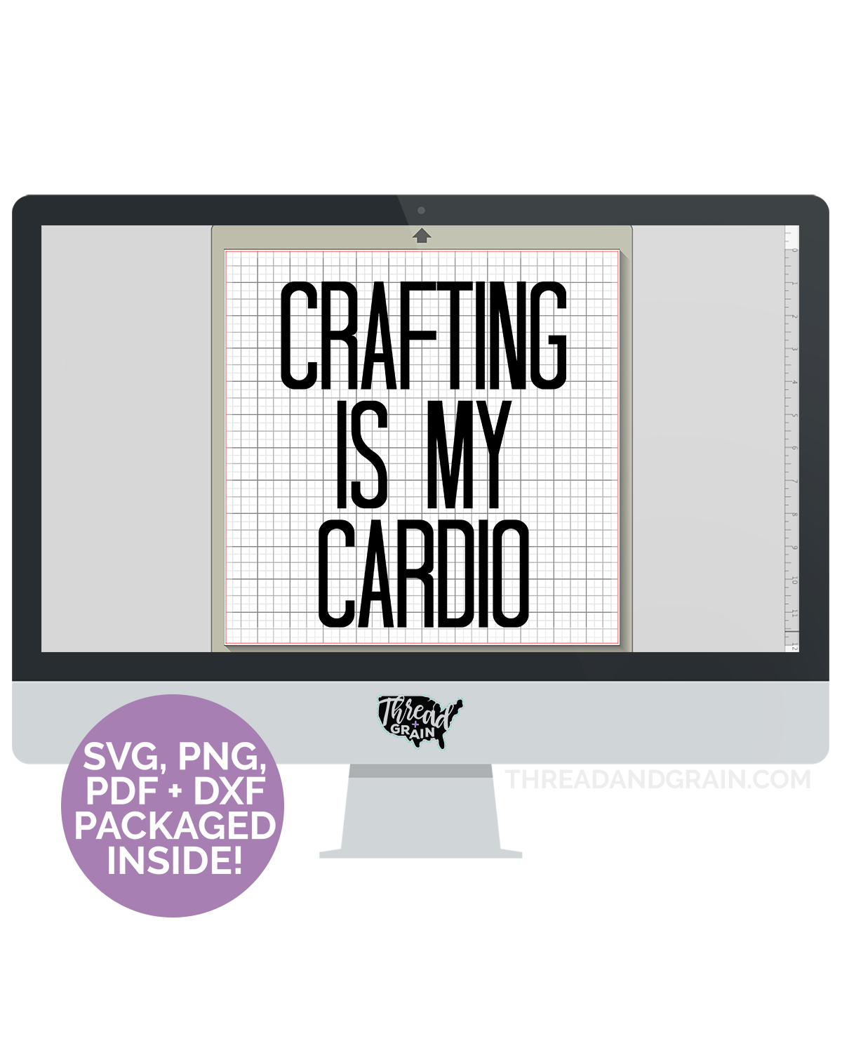 Crafting Is My Cardio DIGITAL CUT FILE
