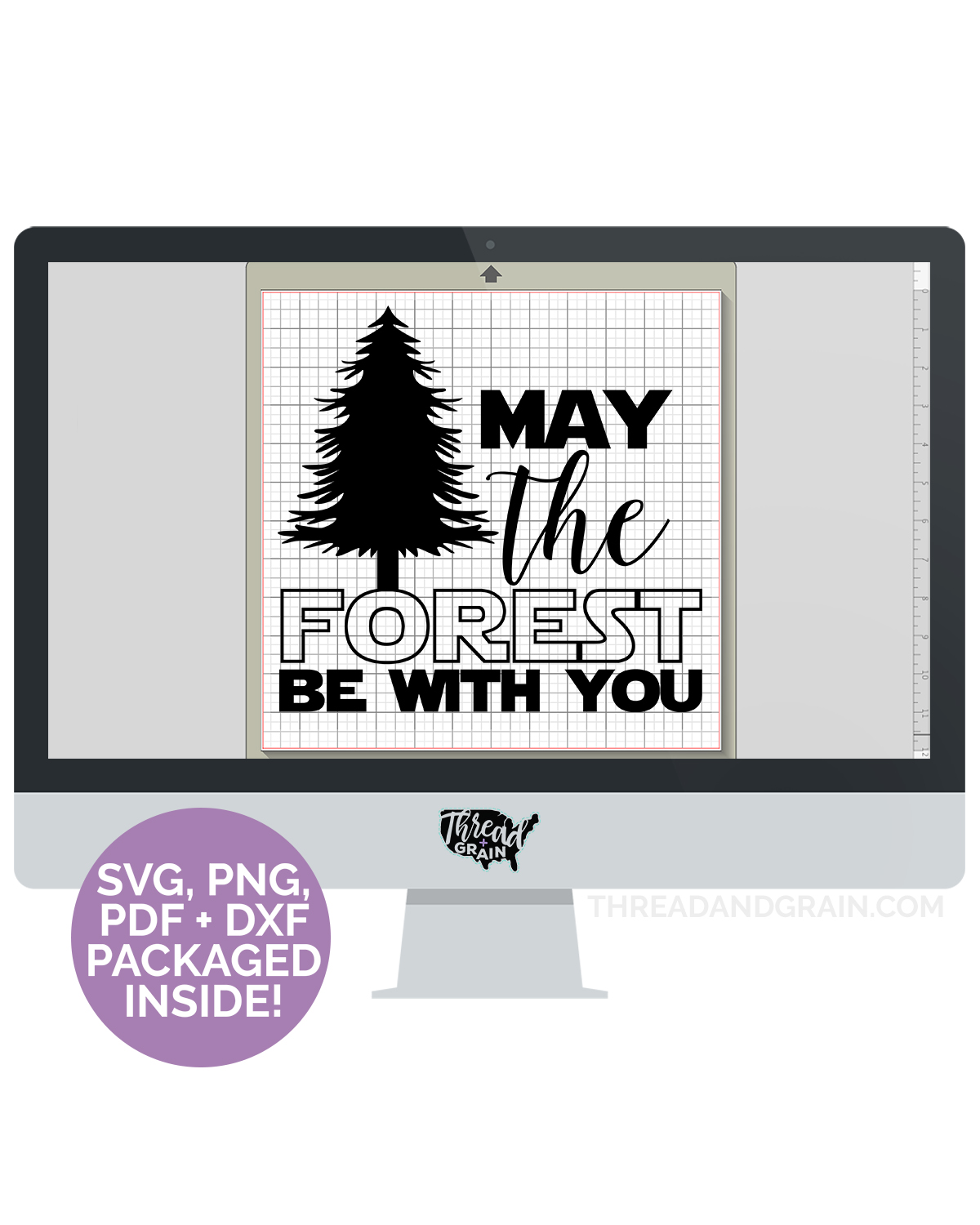 May the Forest Be With You DIGITAL CUT FILE