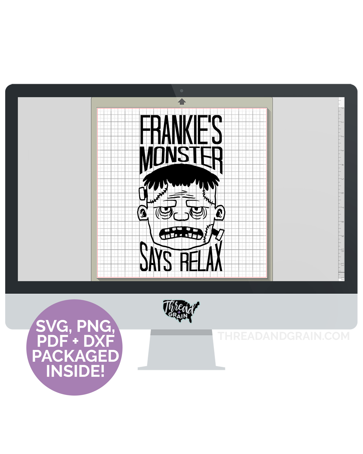 Frankie's Monster Says Relax DIGITAL CUT FILE