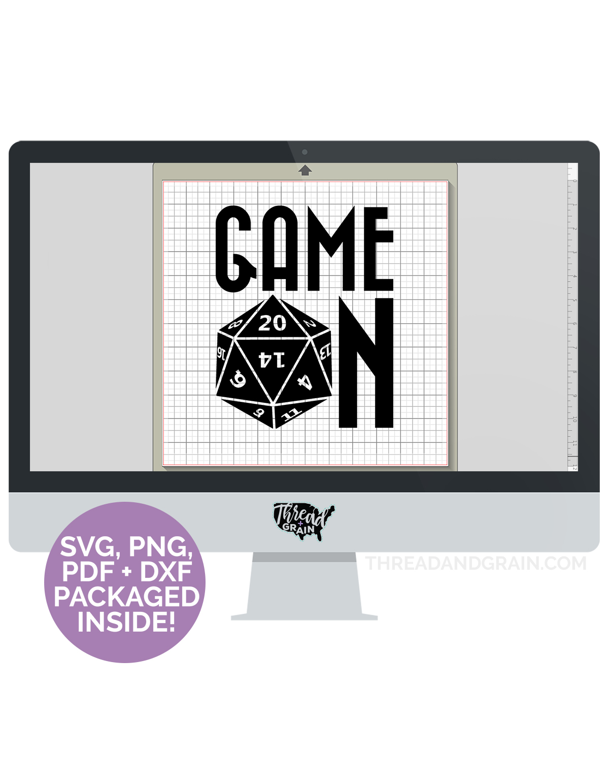 D20 Game On DIGITAL CUT FILE