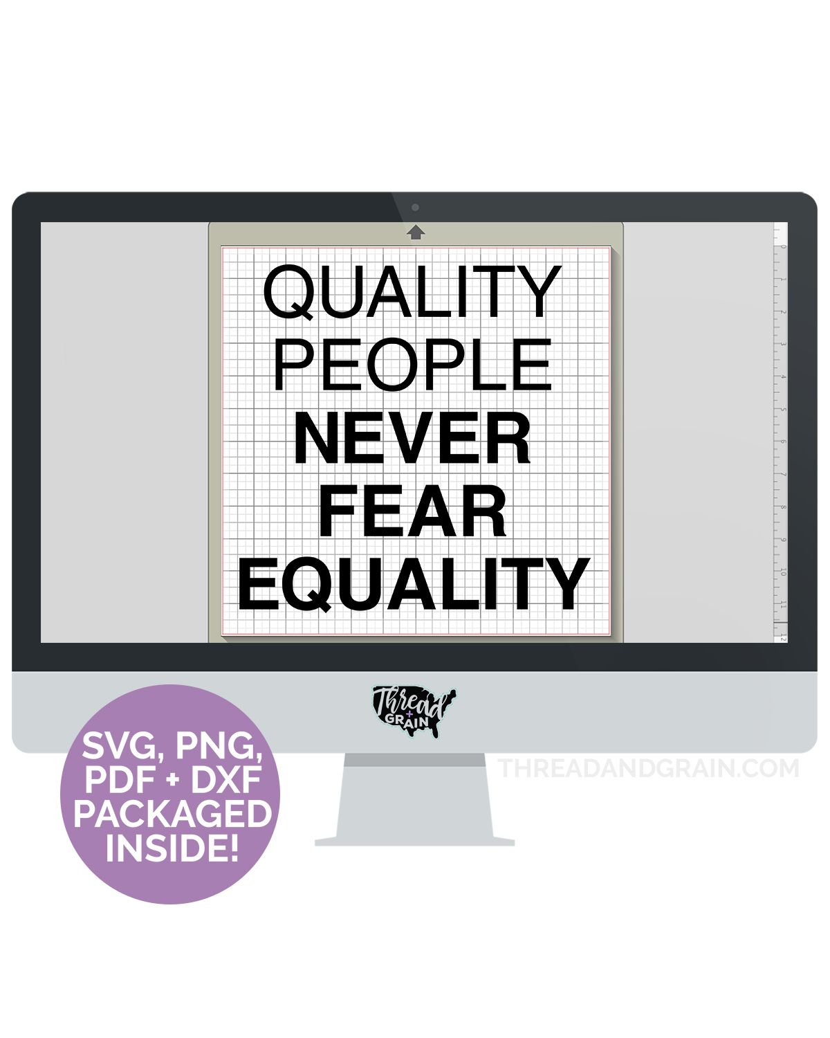 Quality People Never Fear Equality DIGITAL CUT FILE