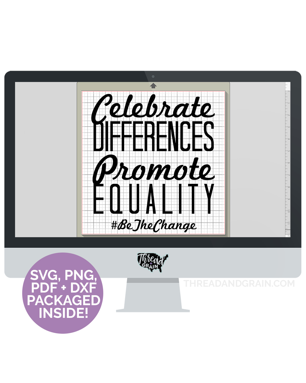 Celebrate Differences, Promote Equality DIGITAL CUT FILE