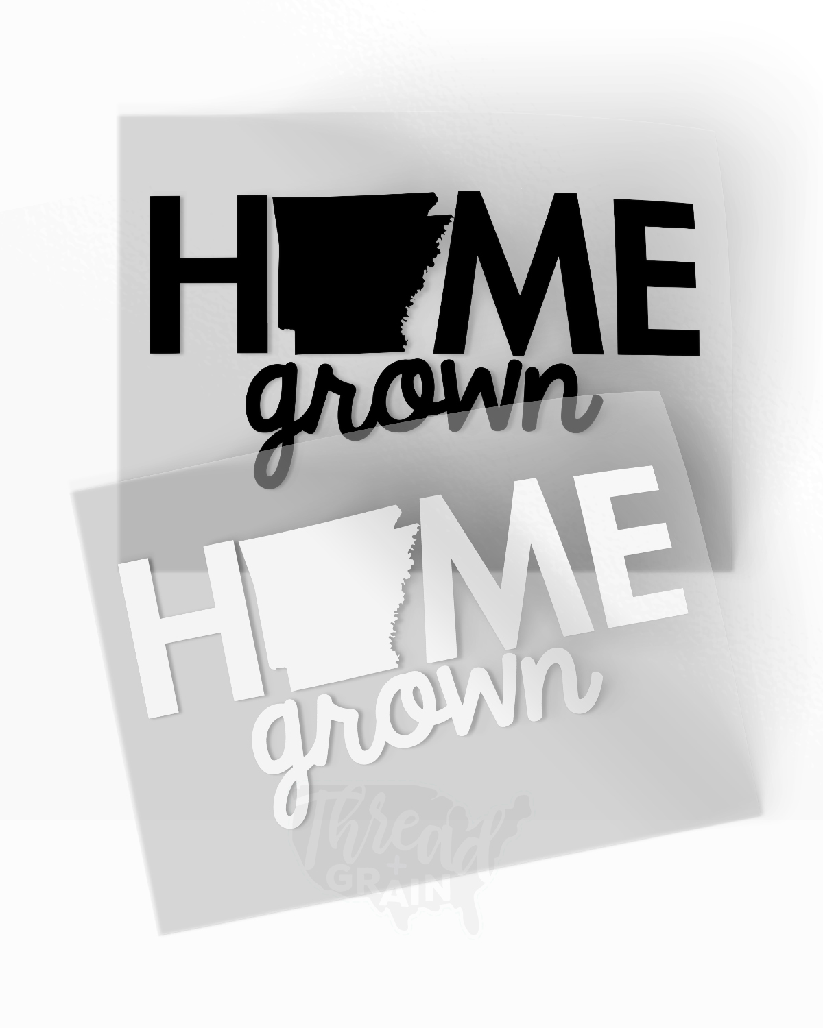 Arkansas :: Home Grown IRON-ON TRANSFER