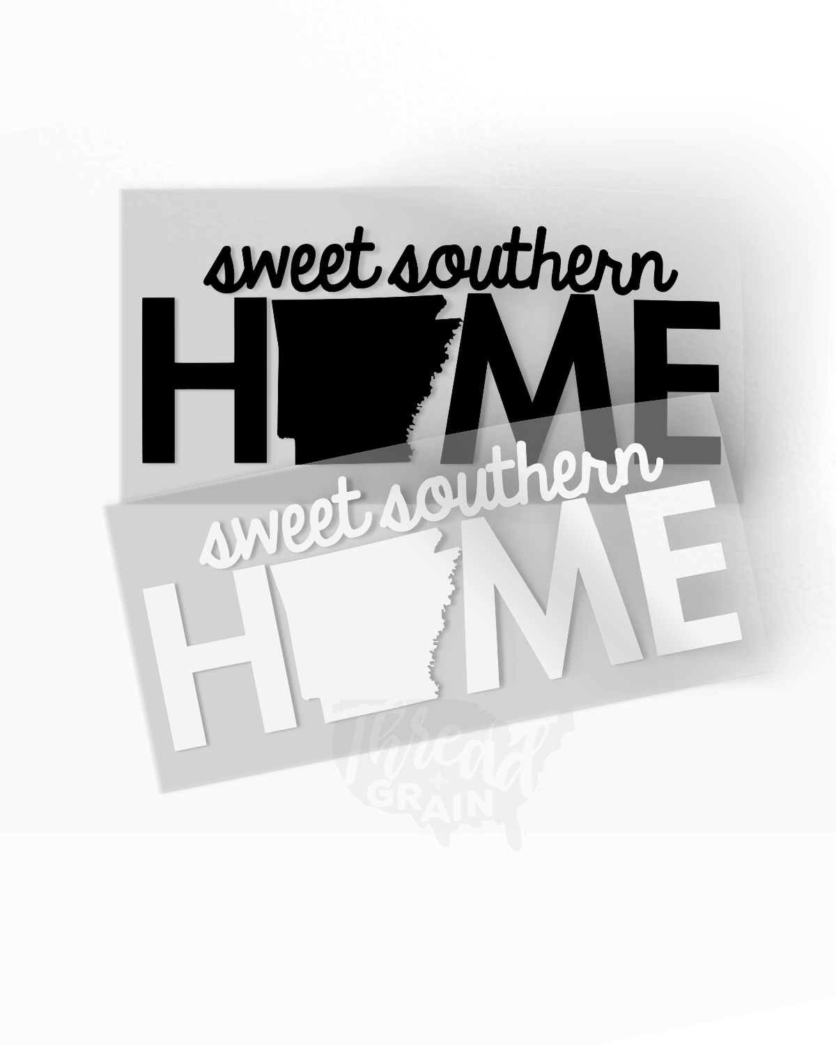 Arkansas :: Sweet Southern Home IRON-ON TRANSFER