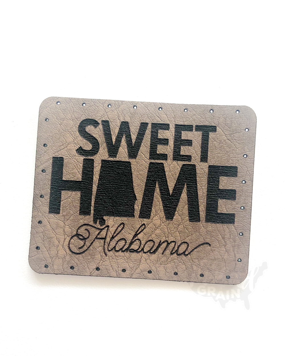 Alabama :: Sweet Home VEGAN LEATHER PATCH