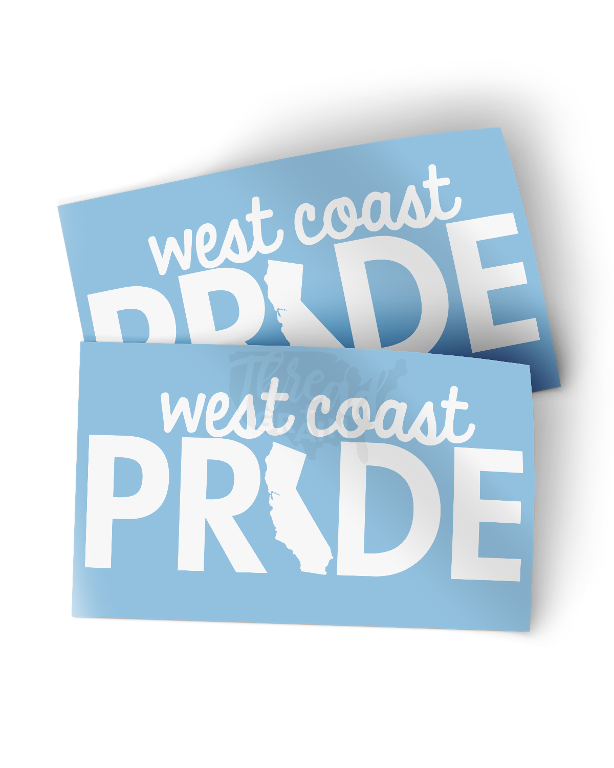 California :: West Coast Pride DECAL