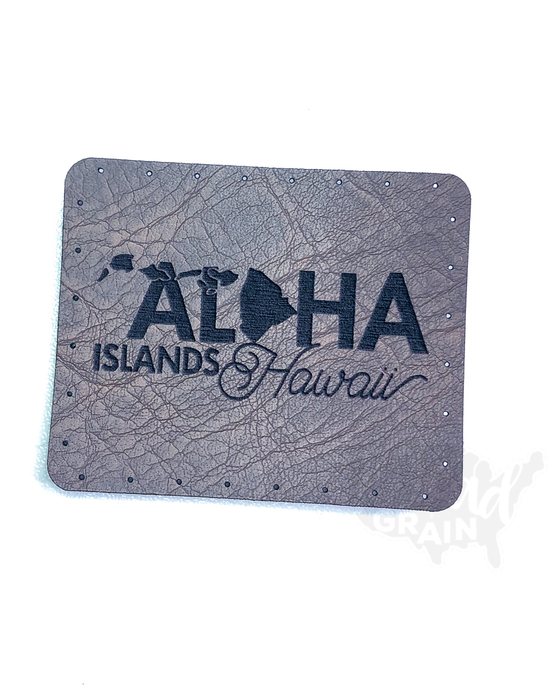 Hawaii :: Aloha Islands VEGAN LEATHER PATCH