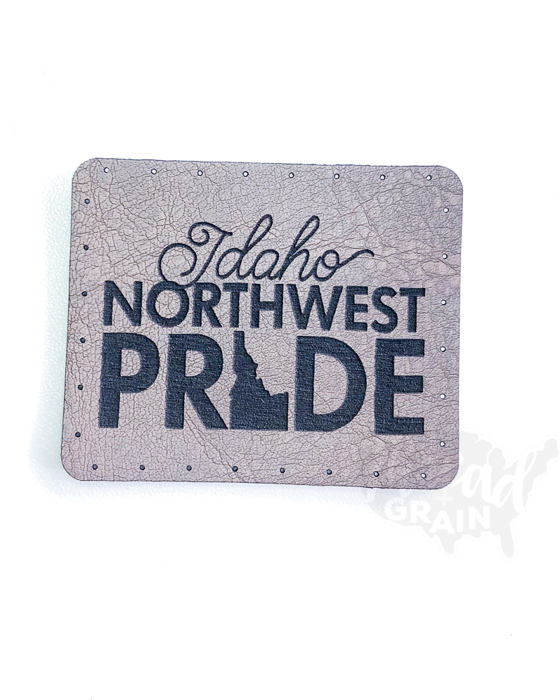 Idaho :: Northwest Pride VEGAN LEATHER PATCH