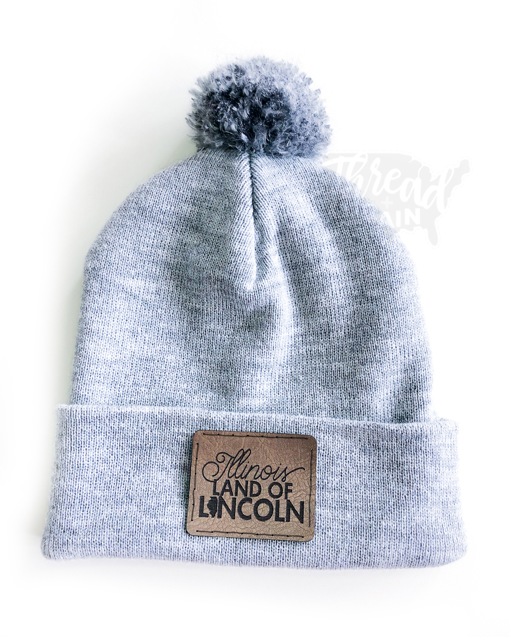 Illinois :: Land of Lincoln PATCHED HAT