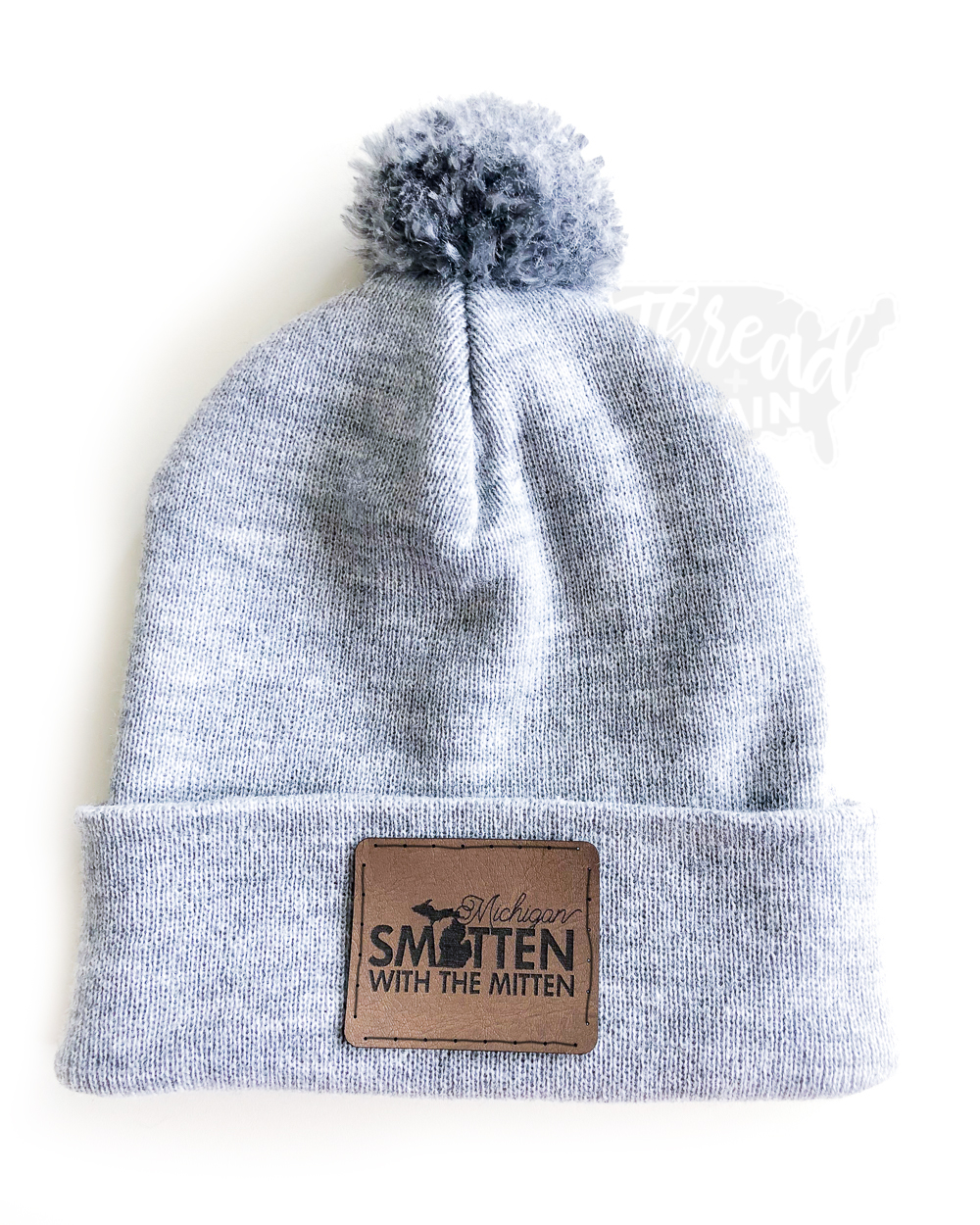 Michigan :: Smitten With the Mitten PATCHED HAT