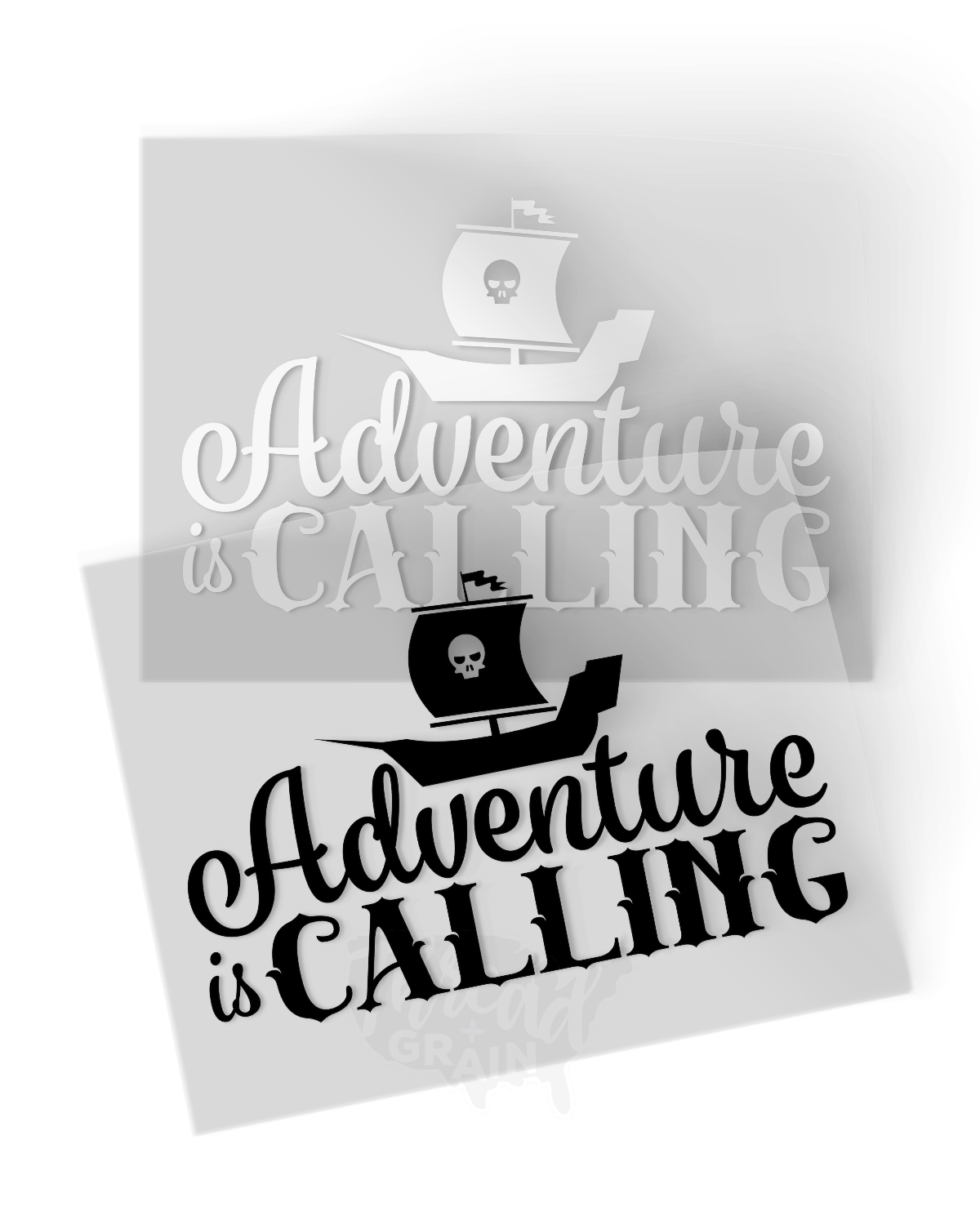 Adventure Is Calling IRON-ON TRANSFER