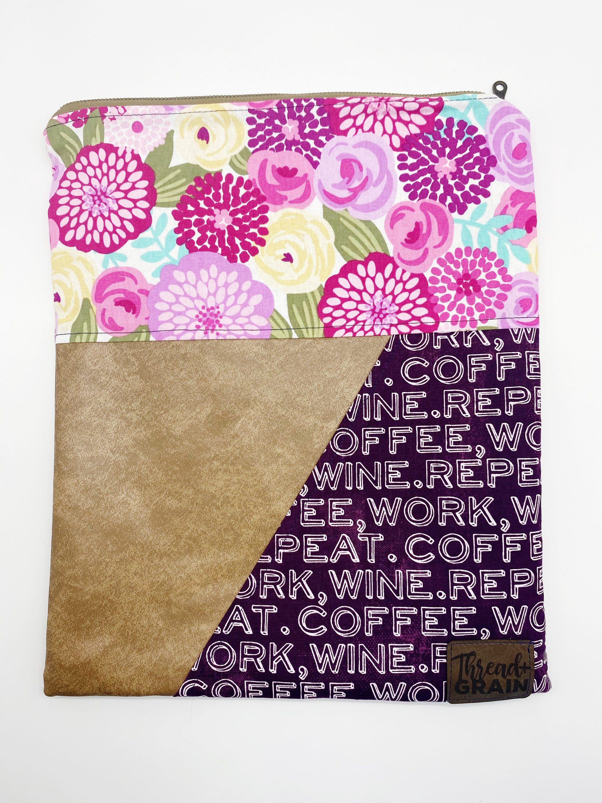 Evelyn Fold-Over Clutch :: Coffee, Work, Wine, Repeat.