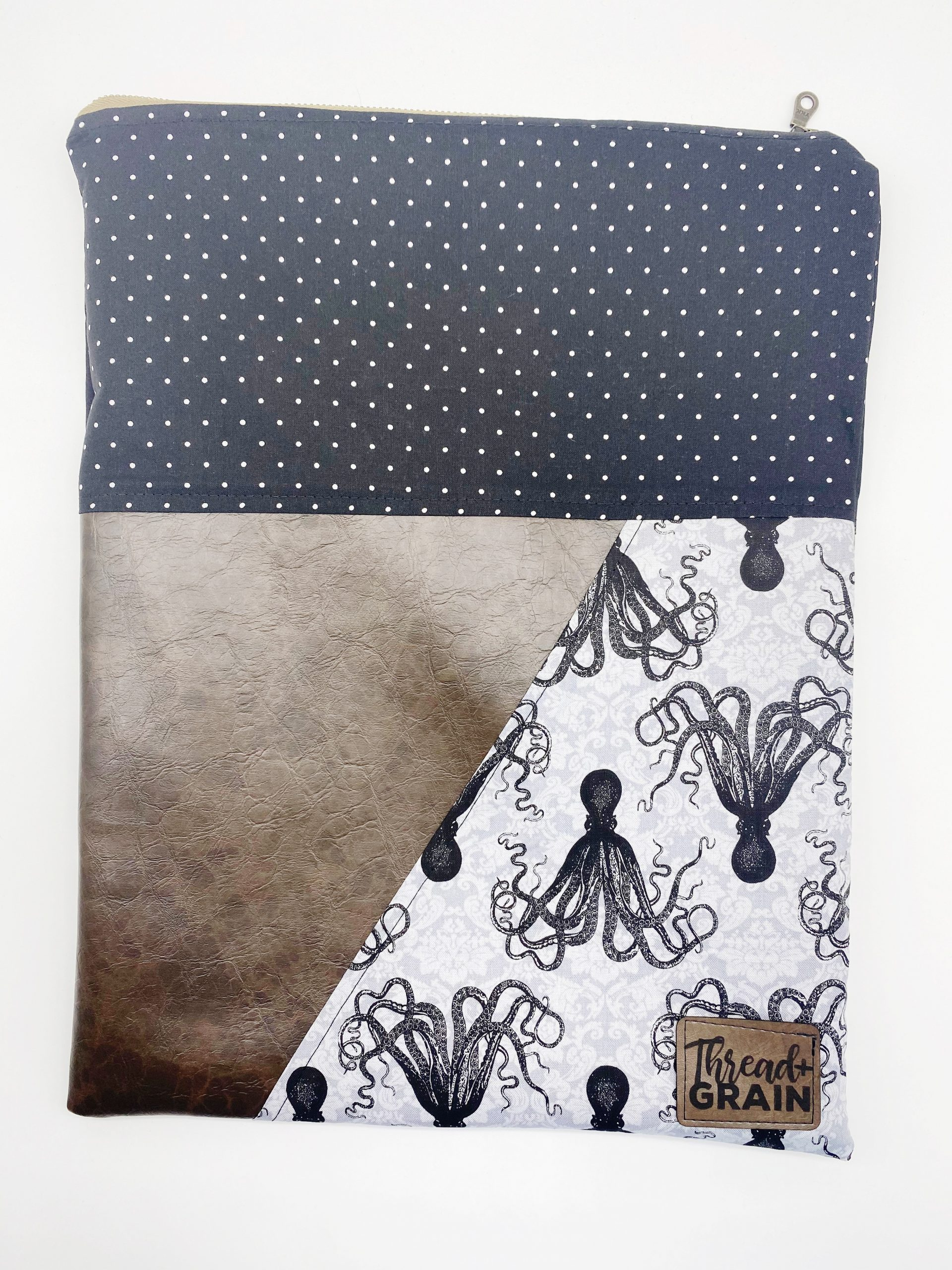 Evelyn Fold-Over Clutch :: Kraken