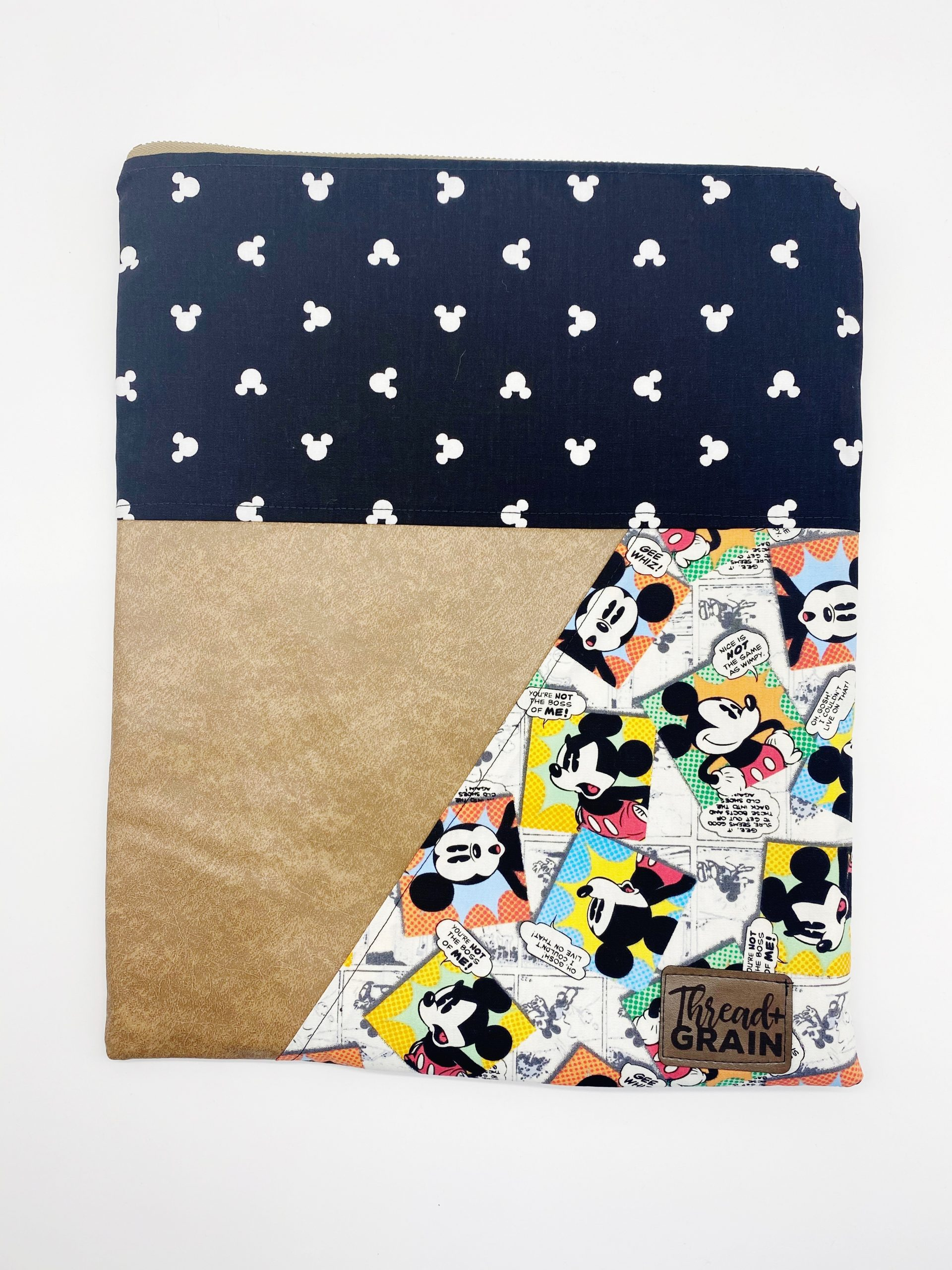 Evelyn Fold-Over Clutch :: Mickey Mouse
